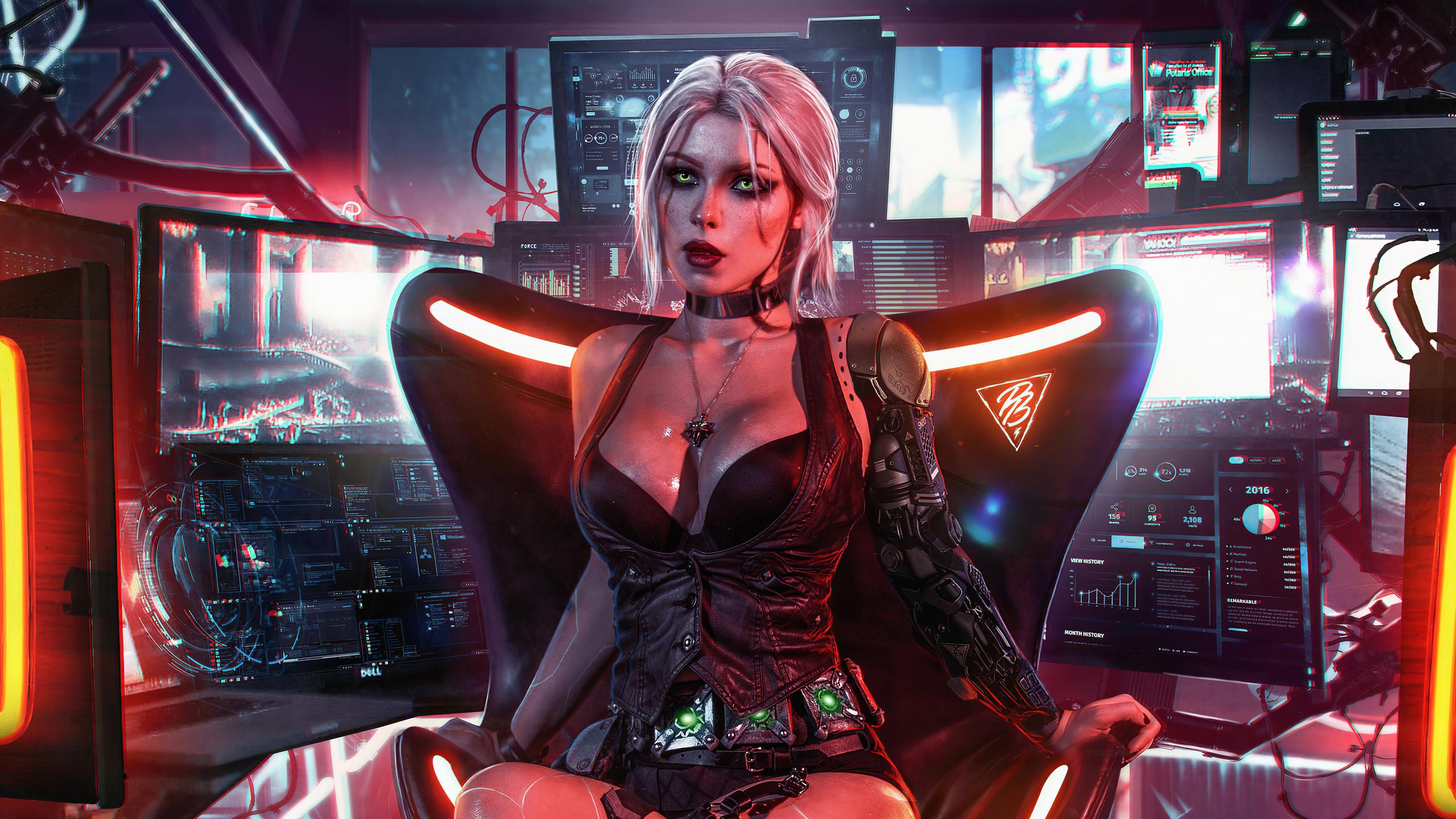 2560x1440 Cyberpunk 2077 4k Game 1440P Resolution HD 4k ...