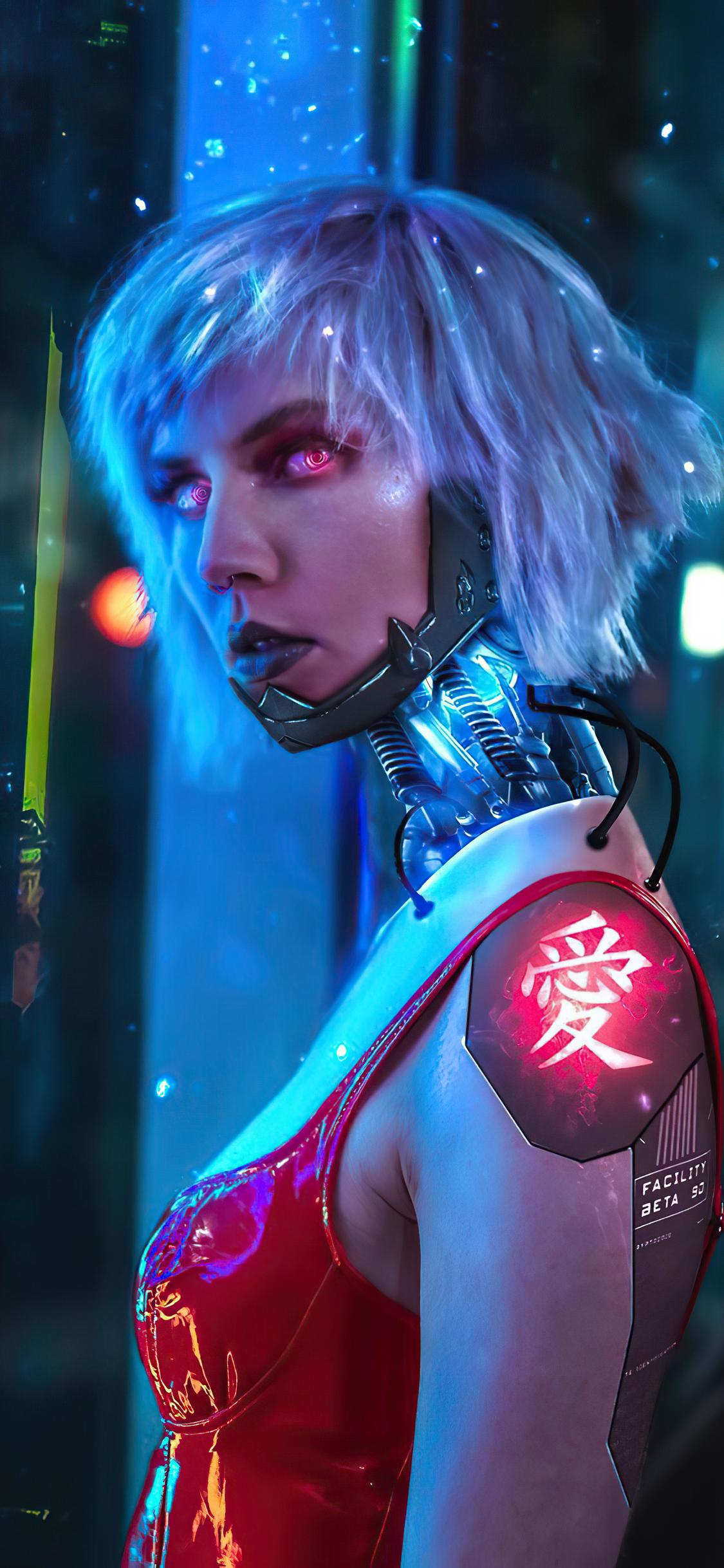 1125x2436 Cyberpunk 2077 Cosplay New 2020 Iphone XS,Iphone ...
