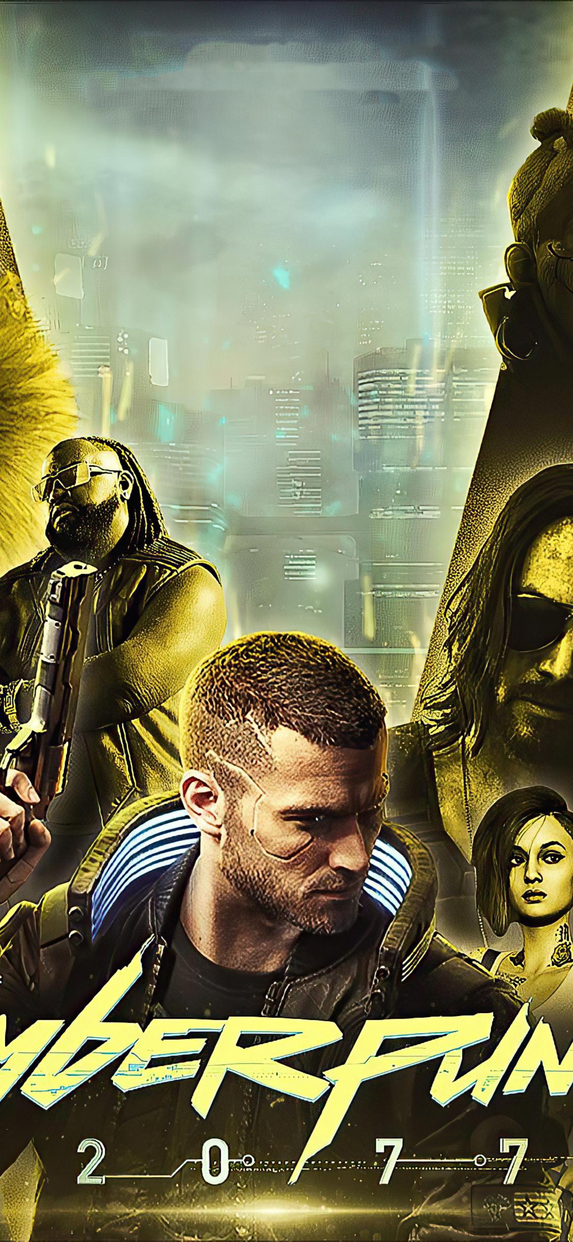 1125x2436 Cyberpunk 2077 Game 2020 Poster Iphone XS,Iphone ...