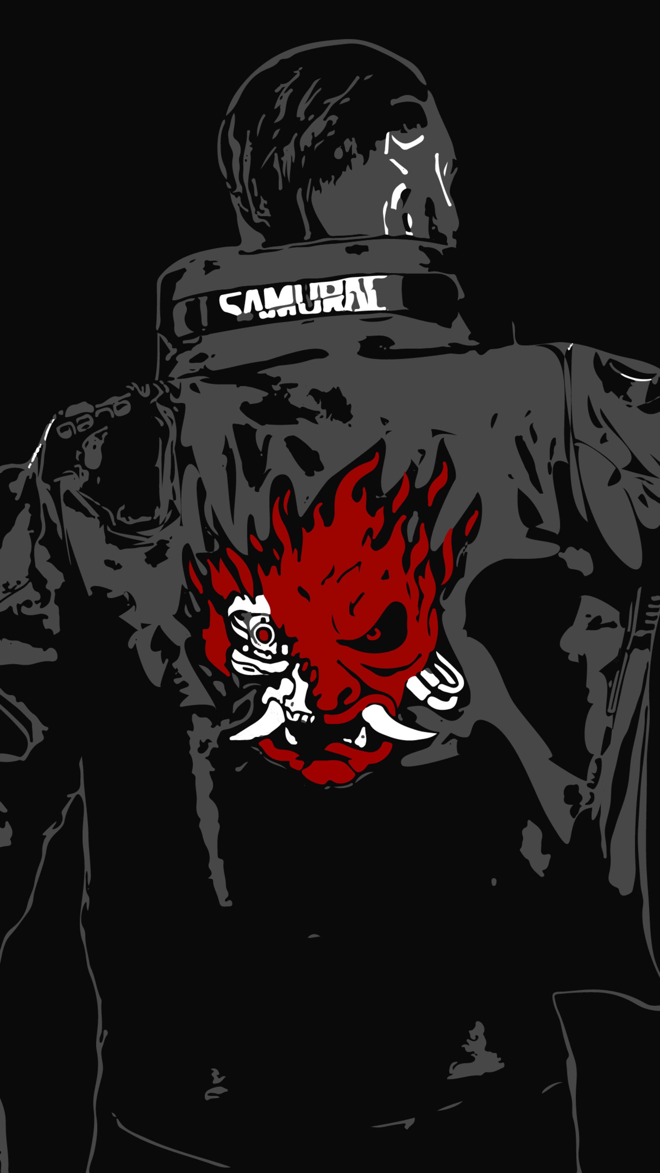 2160x3840 Cyberpunk 2077 Samurai Sony Xperia X,XZ,Z5 ...
