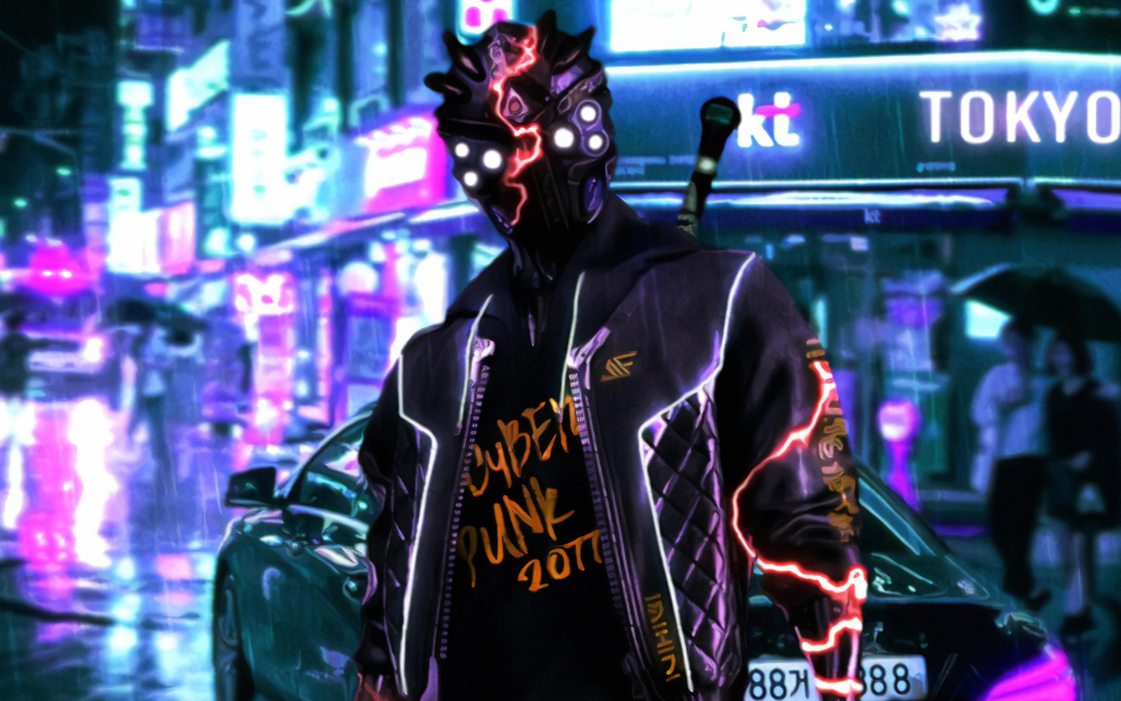 3840x2400 Cyberpunk 2077 Tokyo Street 4k 4k HD 4k ...