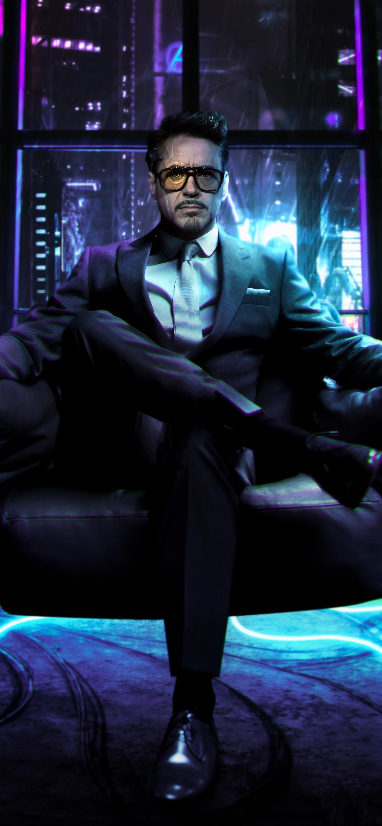 1242x2688 Cyberpunk 2077 Tony Stark Iphone Xs Max Hd 4k