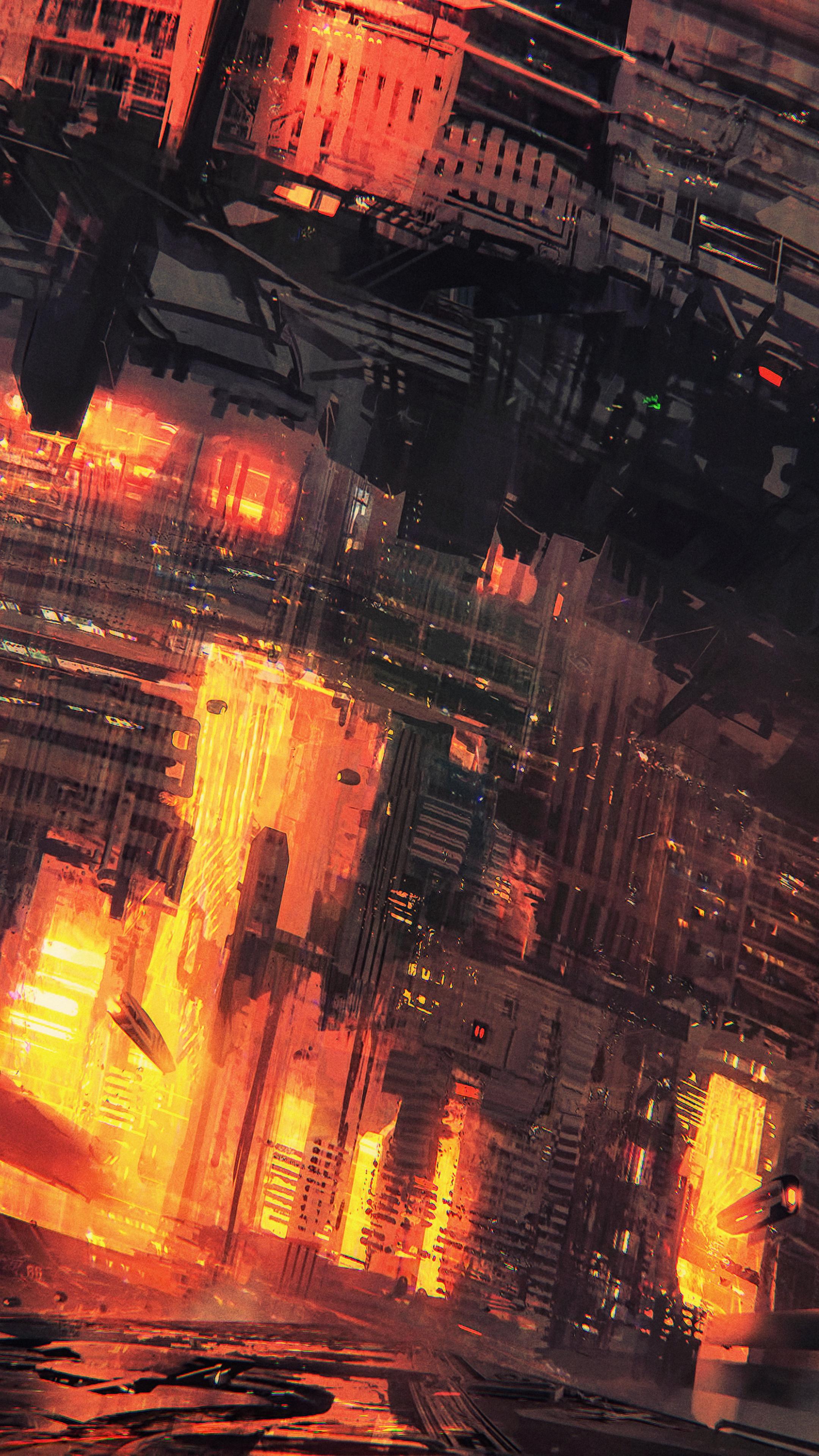 Cyberpunk Human Concept Art