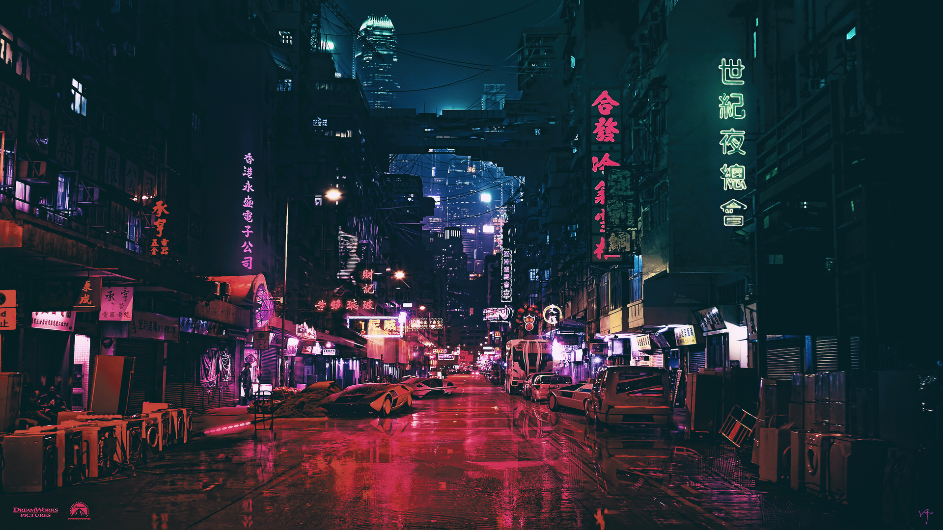 Cyberpunk Futuristic City Science Fiction Concept Art 4k