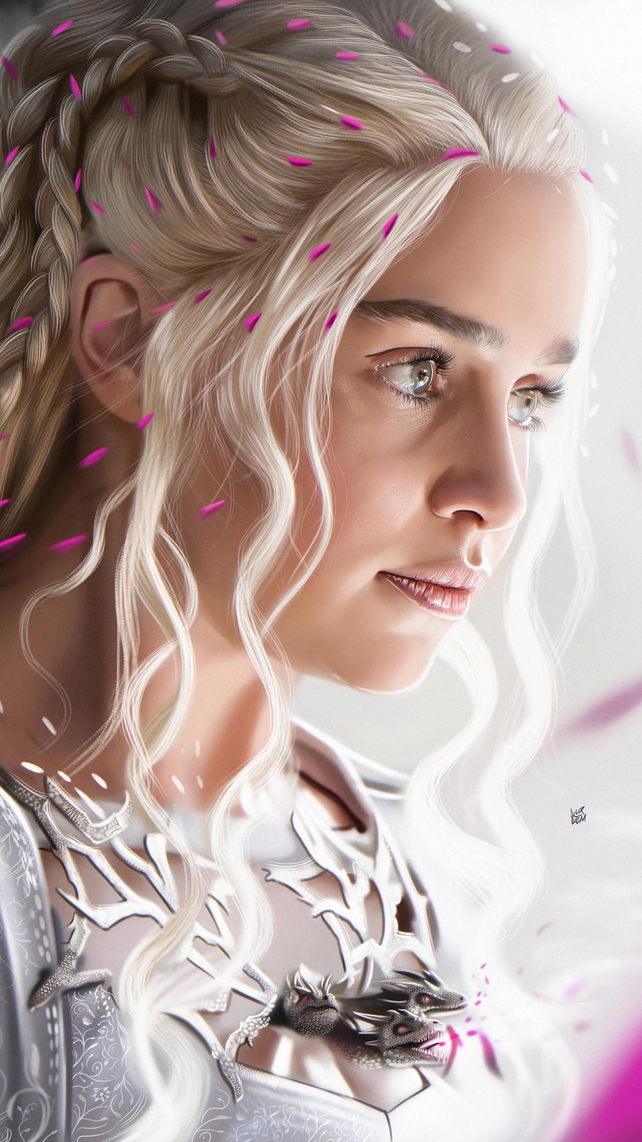 2160x3840 Emilia Clarke For Rolling Stone Sony Xperia X,XZ