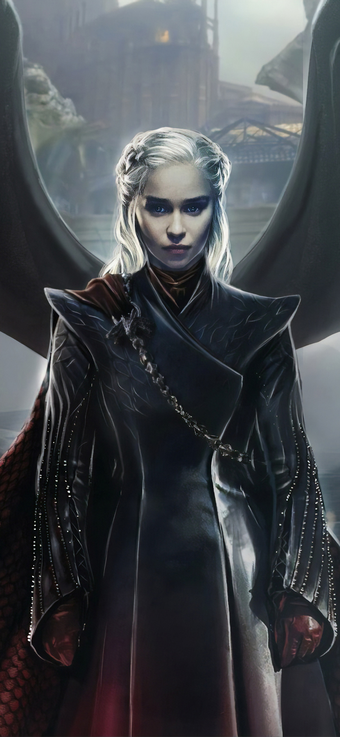 1125x2436 Daenerys Targaryen Game Of Thrones 4k Iphone Xs