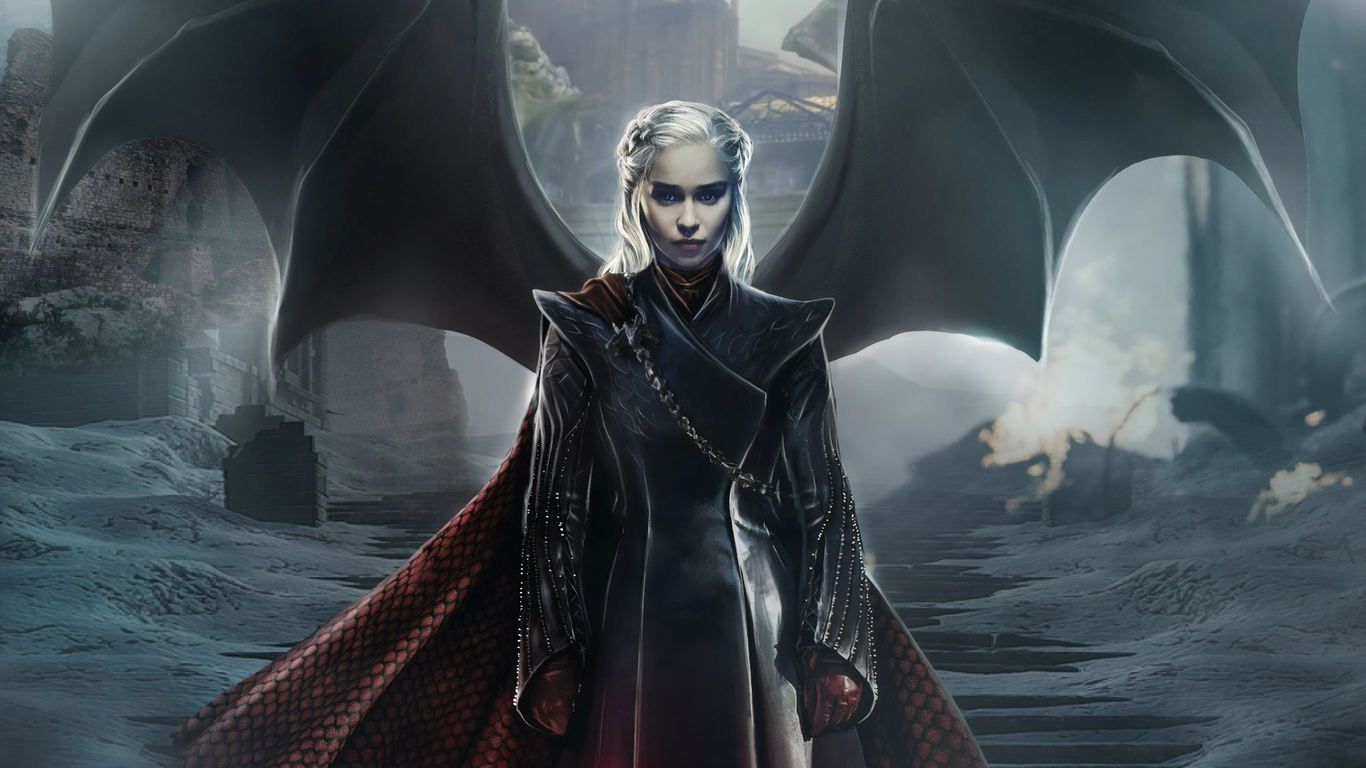 1366x768 Daenerys Targaryen Game Of Thrones 4k 1366x768 Resolution