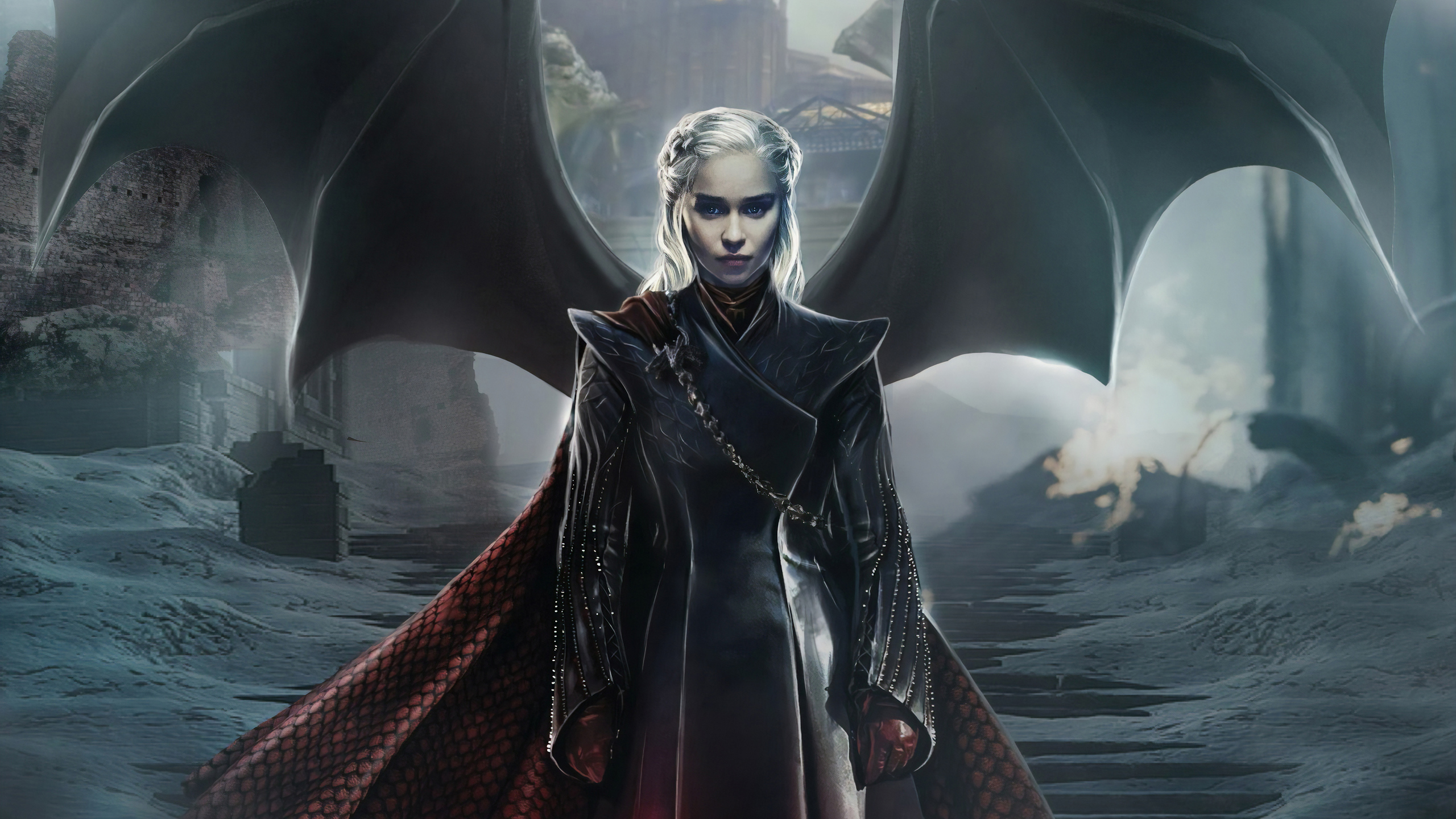 2560x1440 Daenerys Targaryen Game Of Thrones 4k 1440p Resolution