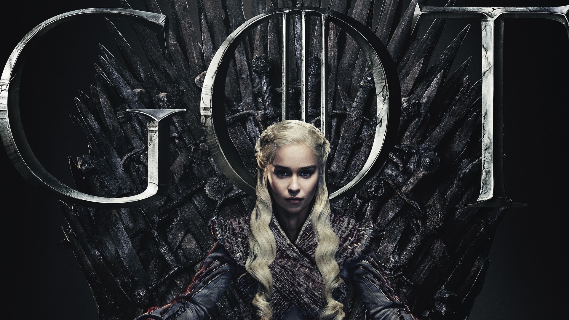 1920x1080 Daenerys Targaryen Game Of Thrones Season 8 Poster