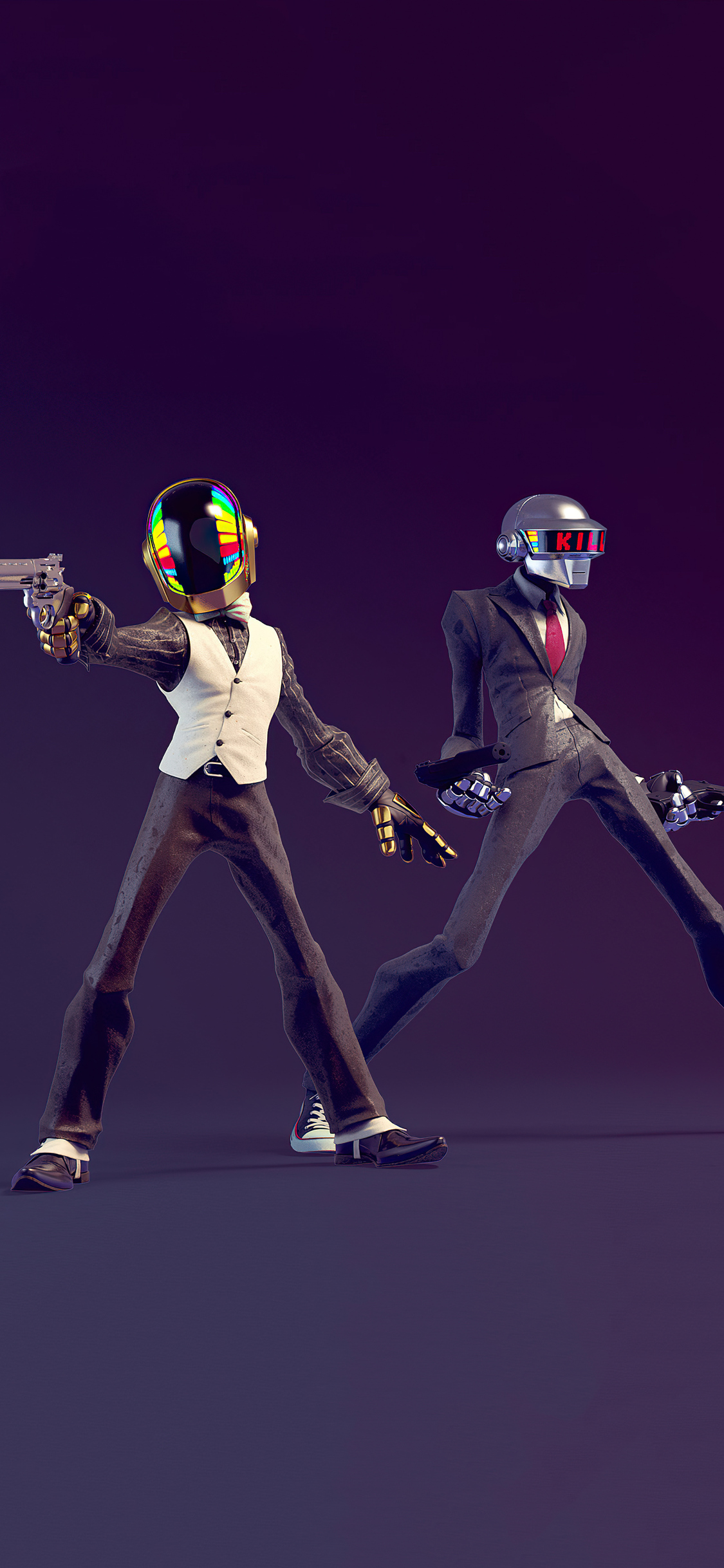 1125x2436 Daft Punk Do You Feel Lucky 4k Iphone XS,Iphone ...