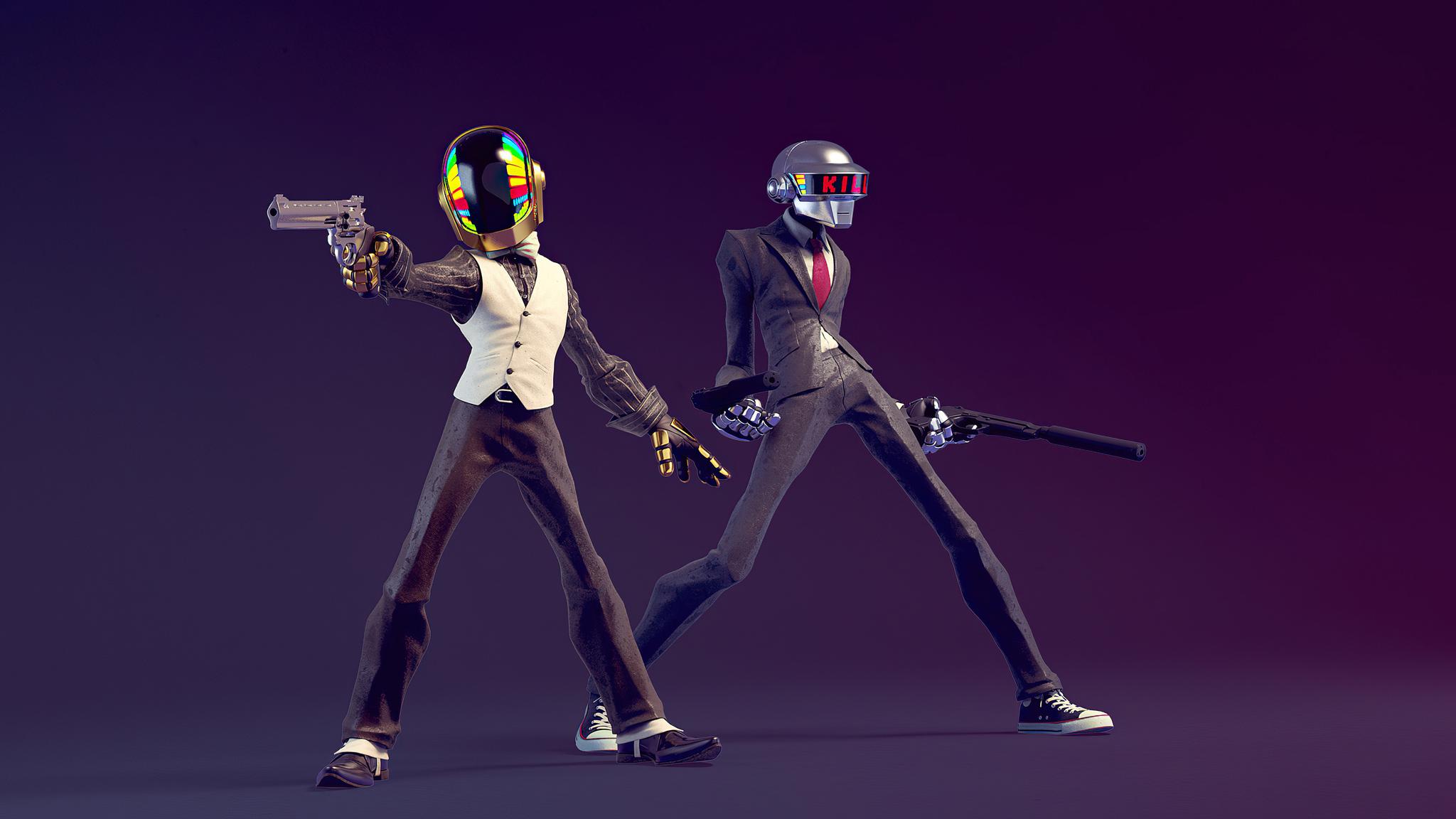 2048x1152 Daft Punk Do You Feel Lucky 4k 2048x1152 ...