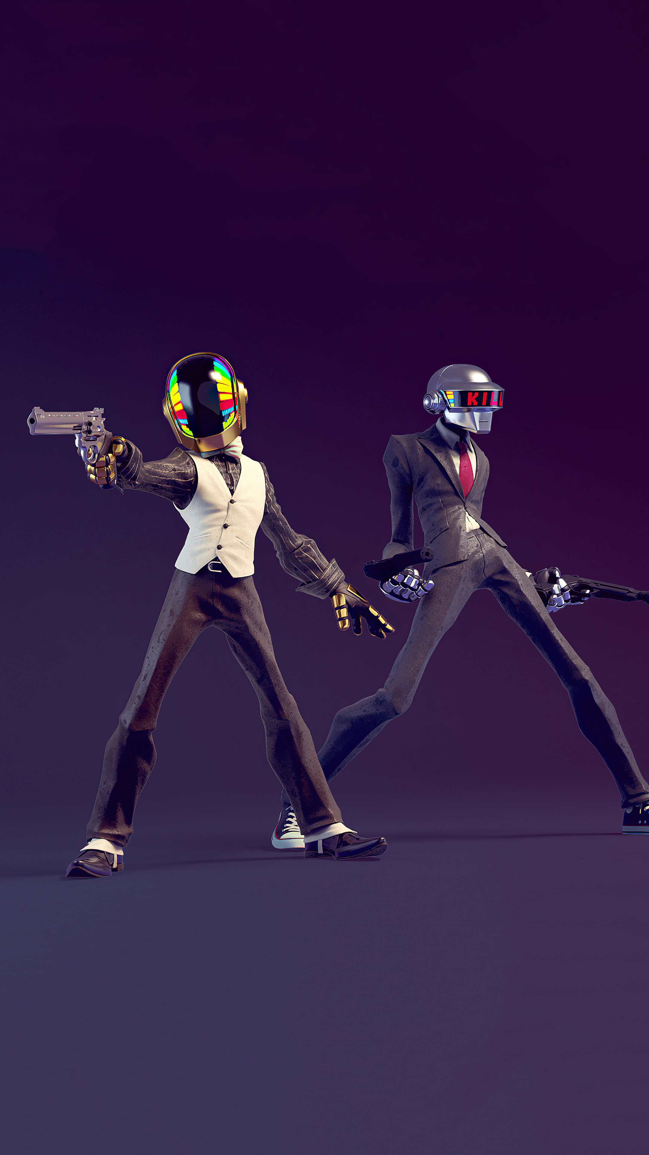 2160x3840 Daft Punk Do You Feel Lucky 4k Sony Xperia X,XZ ...