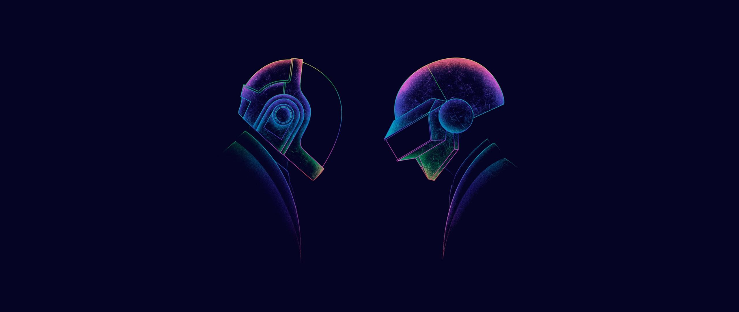 2560x1080 Daft Punk Minimalism 3 2560x1080 Resolution HD ...
