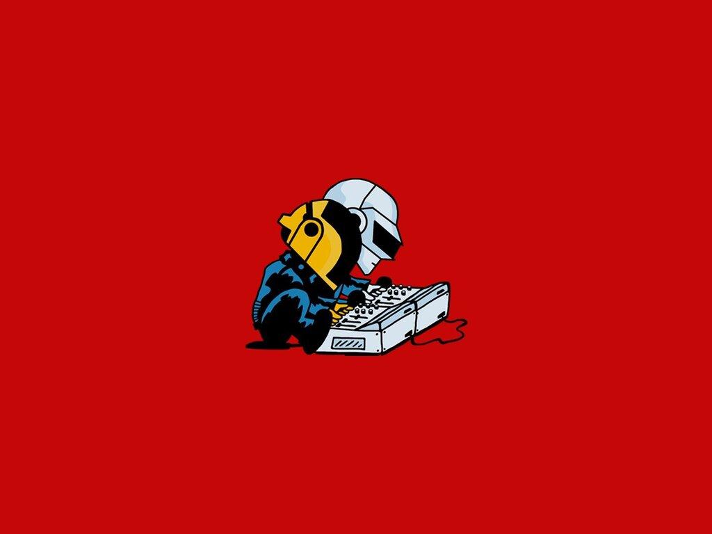 1024x768 Daft Punk Minimalism 1024x768 Resolution HD 4k ...