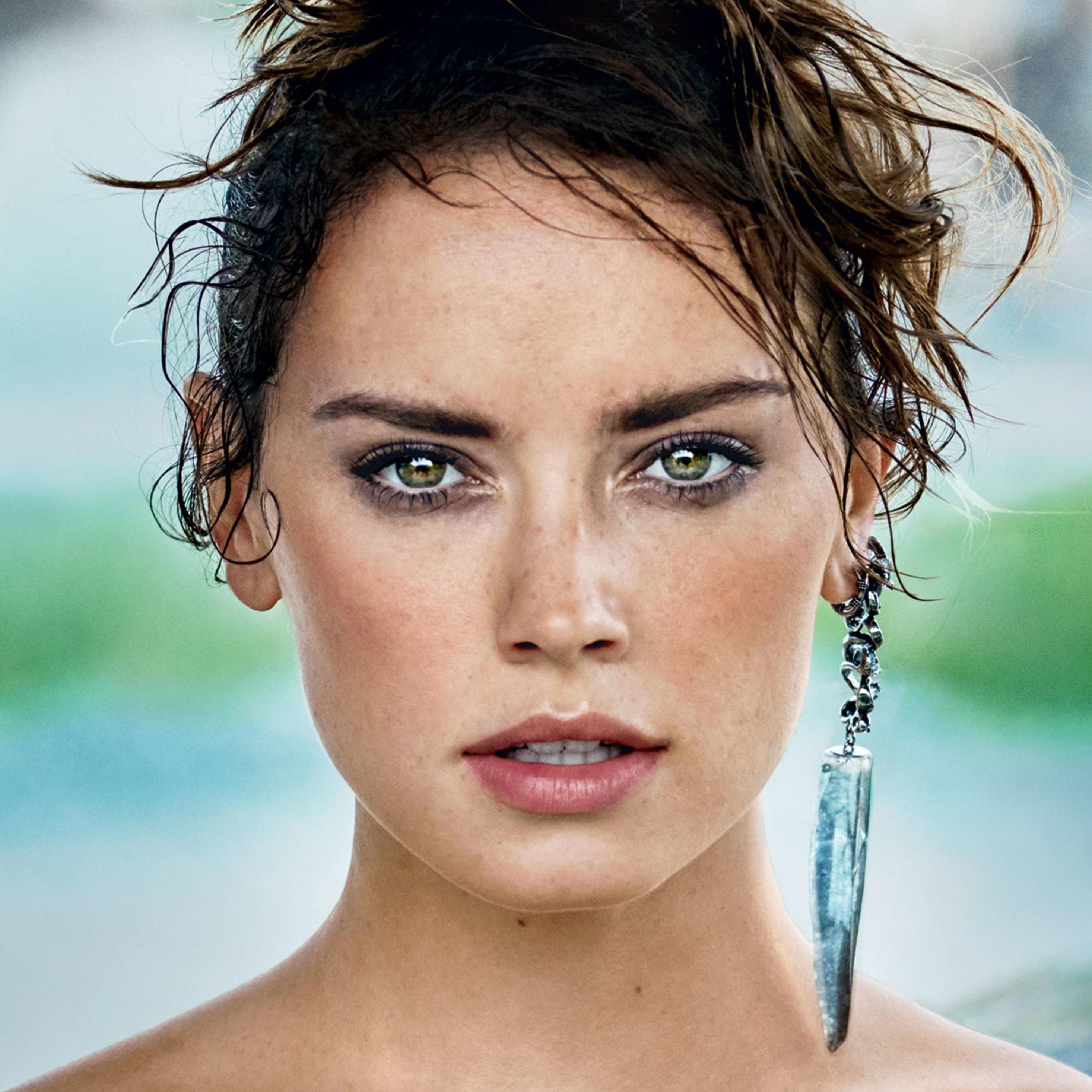 2932x2932 Daisy Ridley Vogue 2017 Photoshoot Ipad Pro
