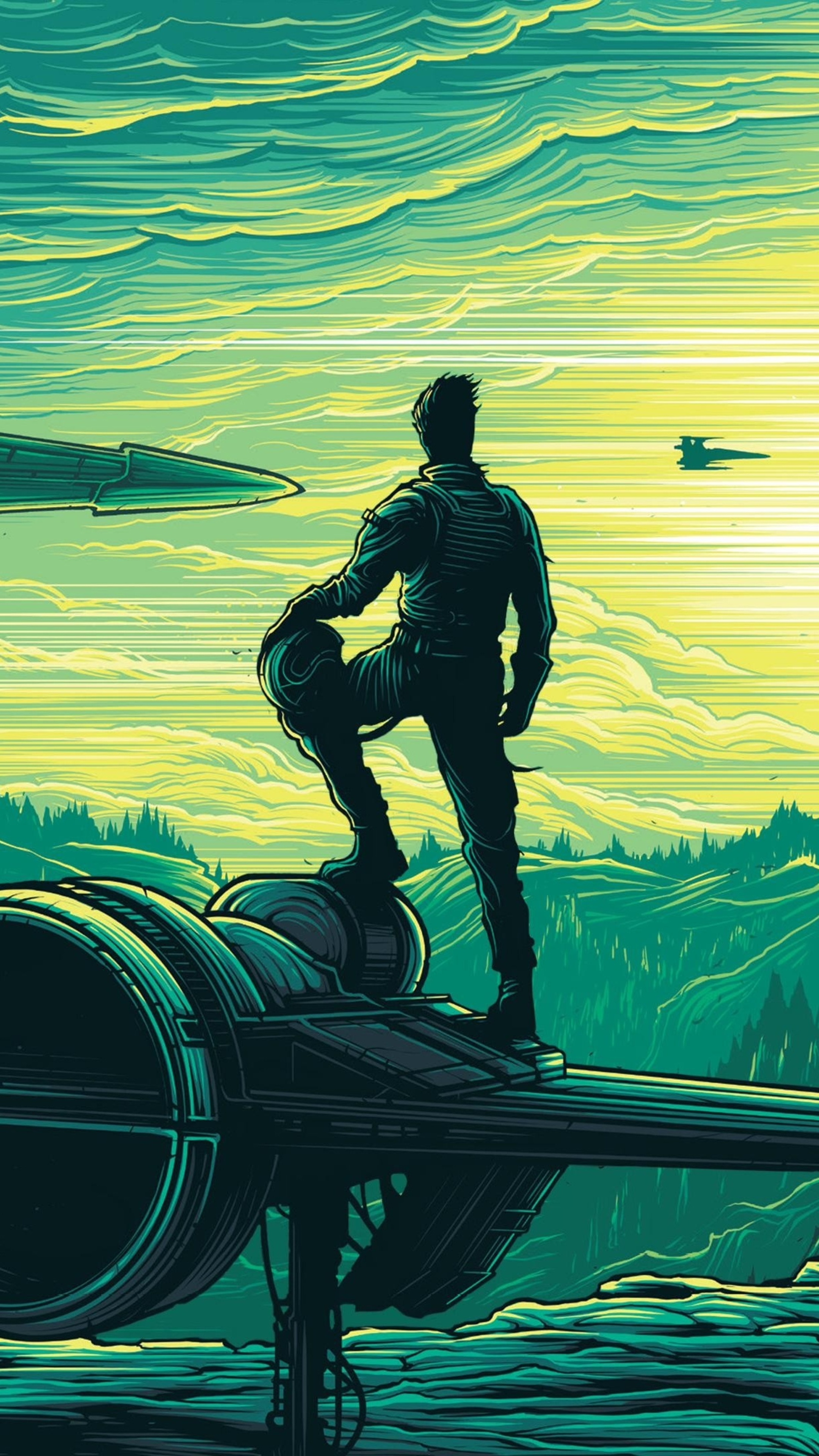 2160x3840 dan mumford star wars the force awakens 4k sony - Art wallpaper 2160x3840 ...