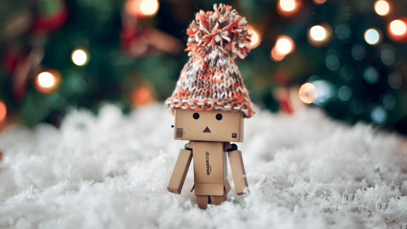1366x768 Danbo Christmas 1366x768 Resolution HD 4k ...