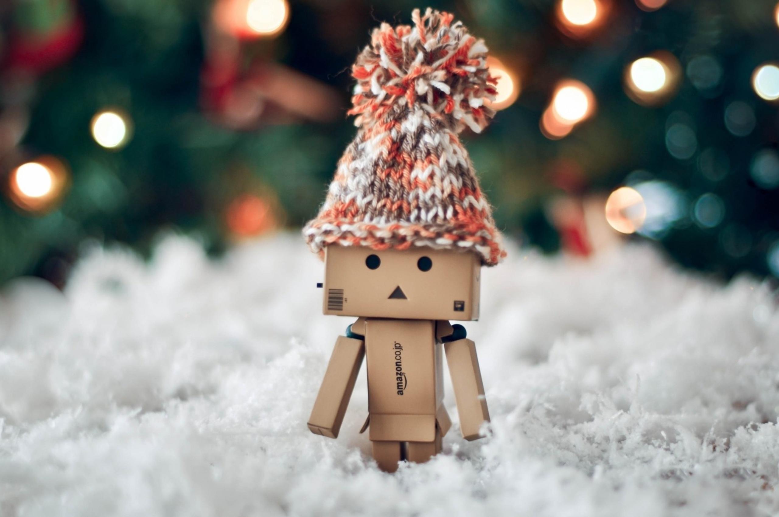 Top Wallpaper Christmas Chromebook - danbo-christmas-4k-2560x1700  2018_23488 .jpg