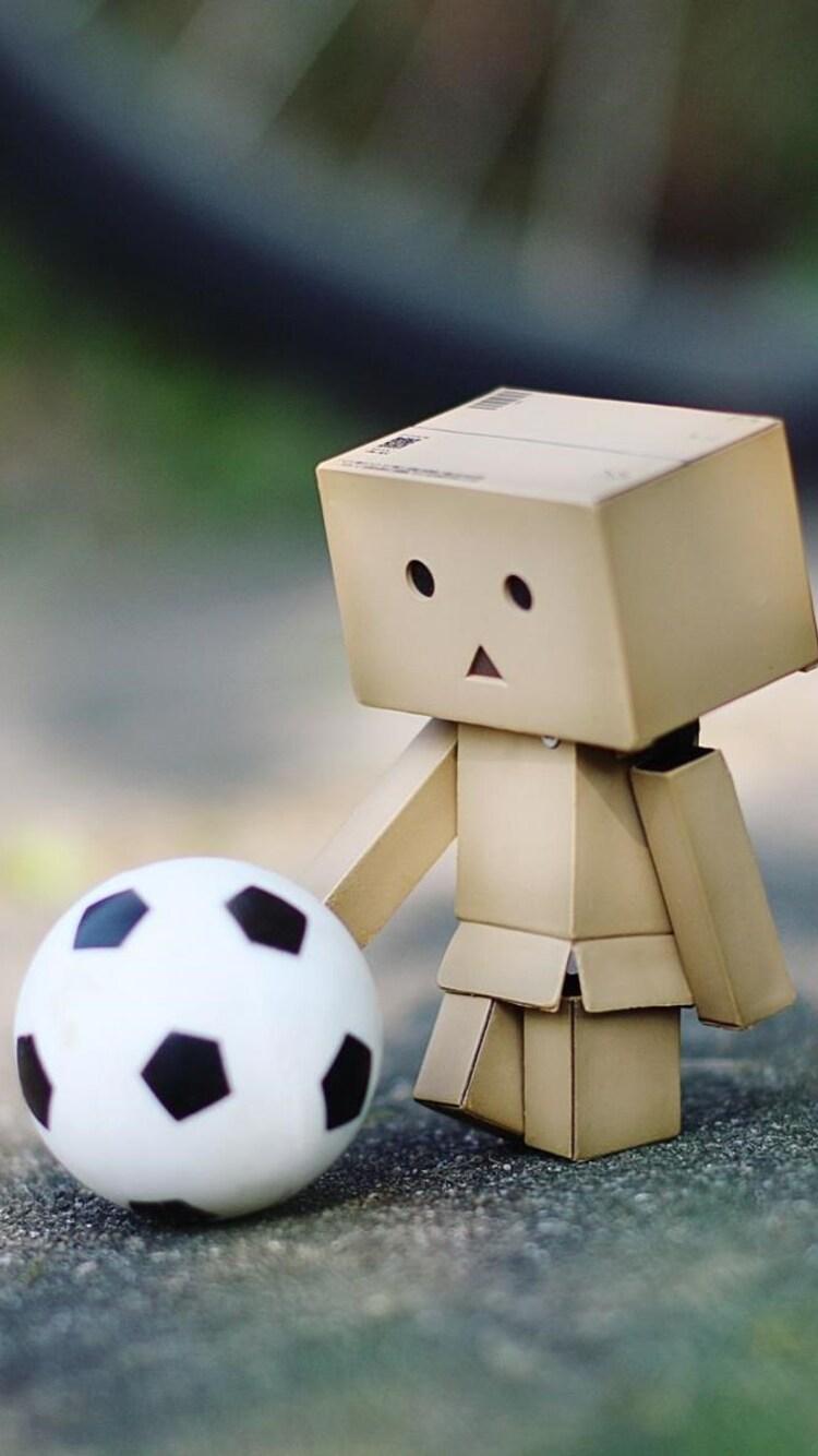 750x1334 Danbo Soccer Fan Iphone 6 Iphone 6s Iphone 7 Hd