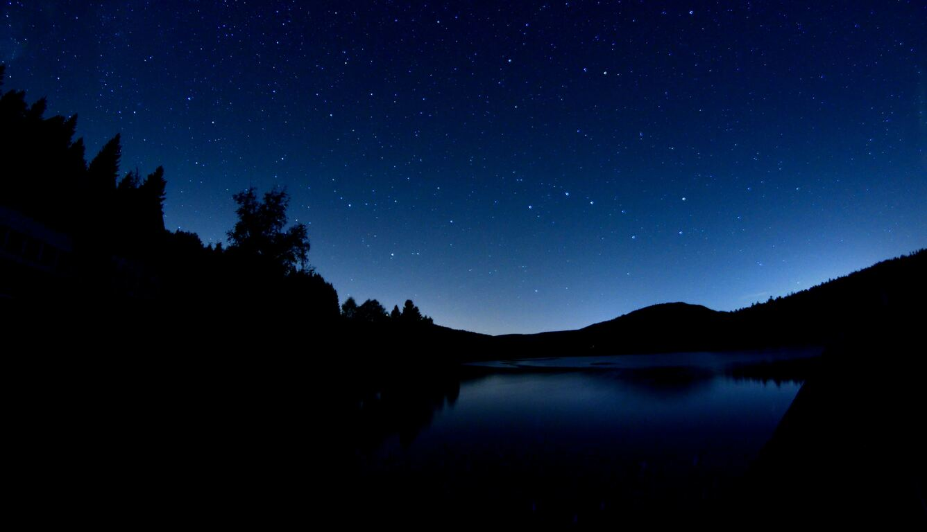 1336x768 Dark Blue Evening Laptop Hd Hd 4k Wallpapers Images Backgrounds Photos And Pictures