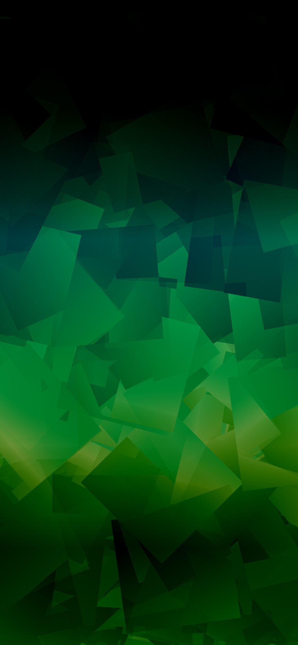 1125x2436 Dark Green Abstract Shapes 4k Iphone XS,Iphone ...