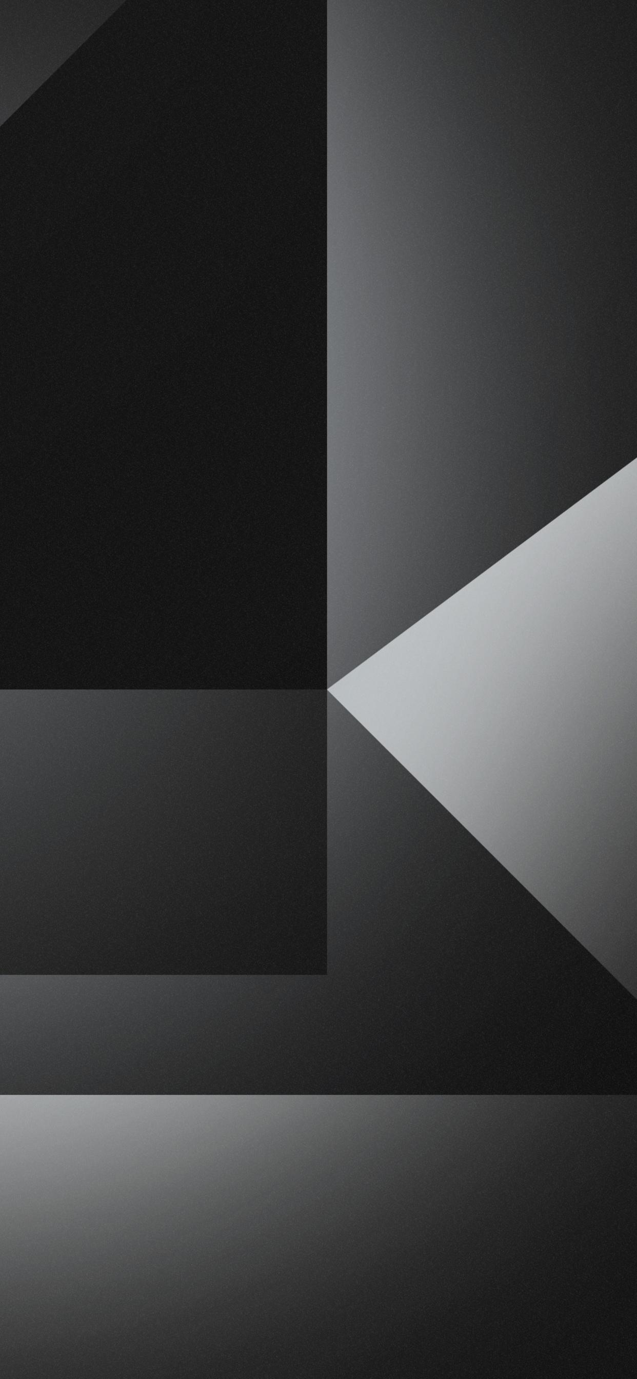 1242x2688 Dark Grey Abstract Shapes 4k Iphone Xs Max Hd 4k
