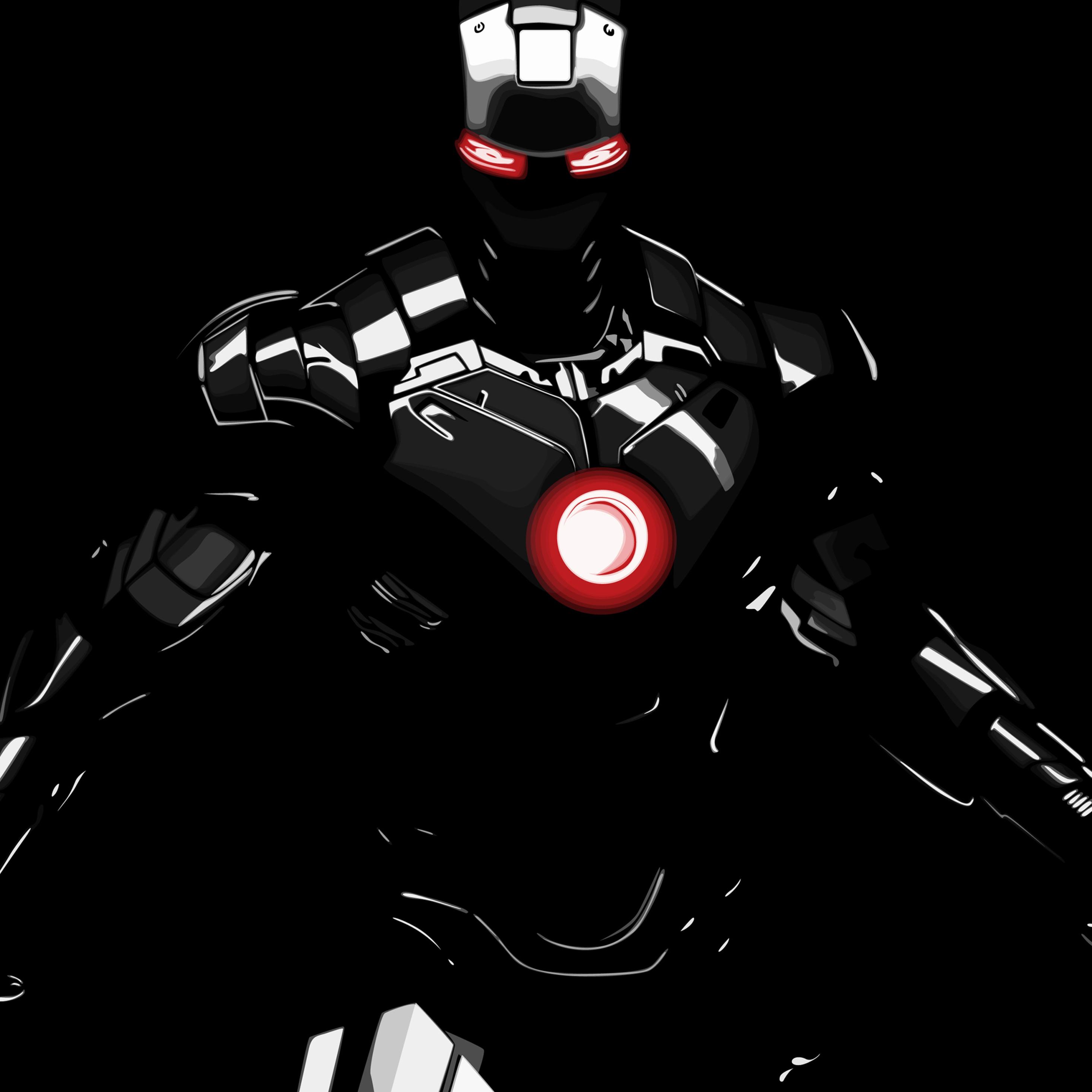 2932x2932 Dark Iron Man Ipad Pro Retina Display HD 4k