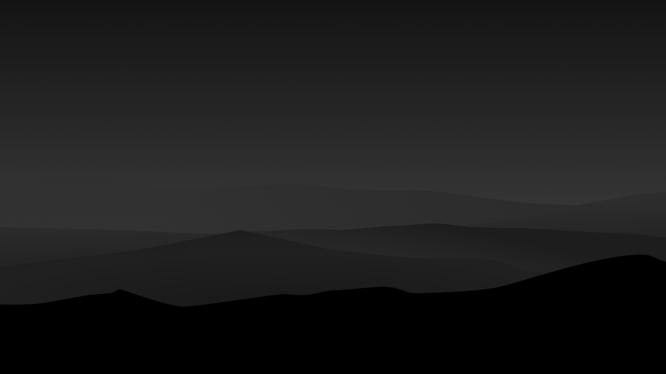 1366x768 Dark Night Mountains Minimalist 4k 1366x768 Resolution Hd 4k Wallpapers Images Backgrounds Photos And Pictures