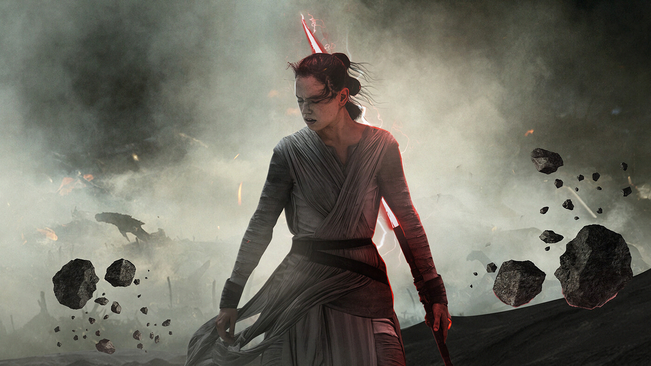 1280x720 Dark Rey Star Wars The Rise Of Skywalker 720p Hd 4k Wallpapers Images Backgrounds Photos And Pictures