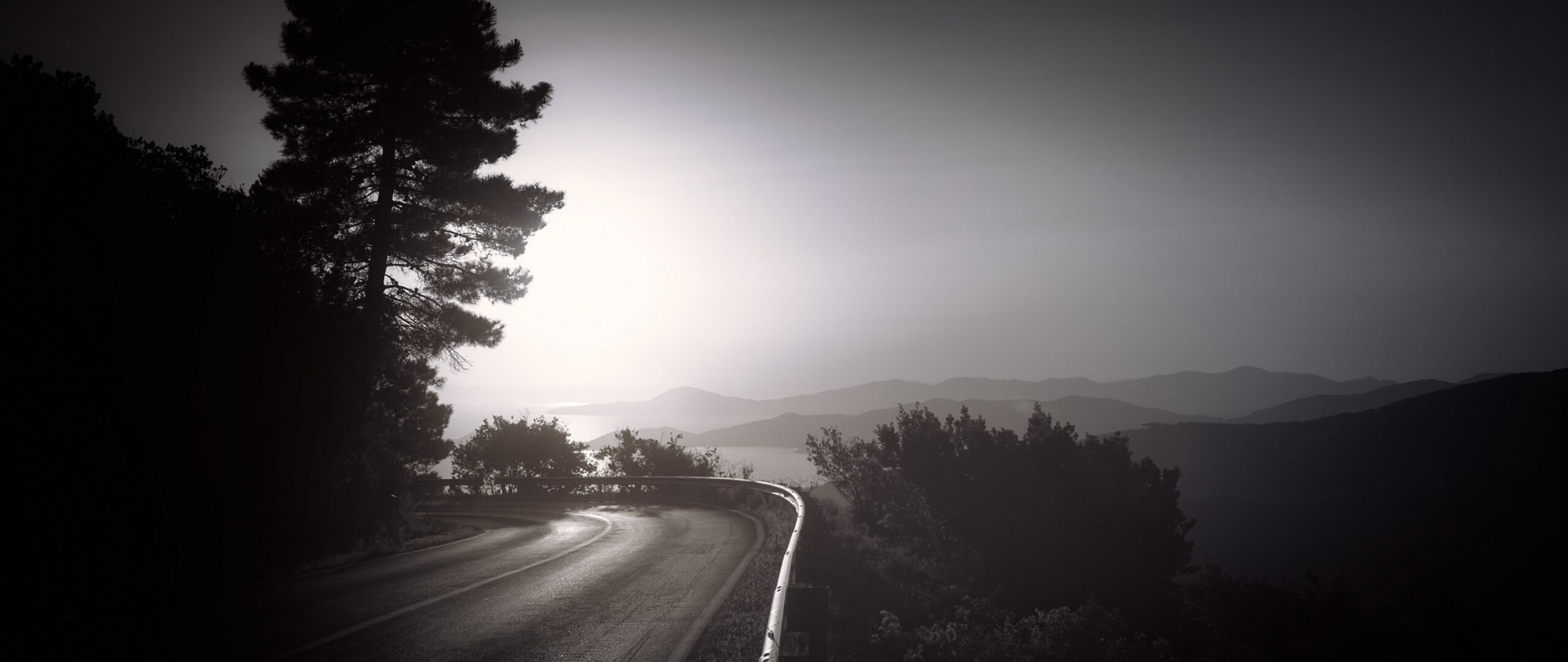 2560x1080 Dark Road 2560x1080 Resolution Hd 4k Wallpapers Images Backgrounds Photos And Pictures