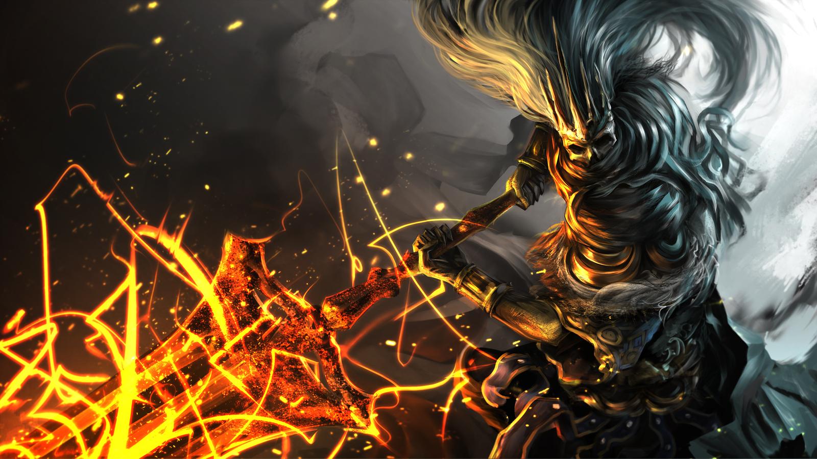 1600x900 Dark Souls 3 Artwork 3 1600x900 Resolution Hd 4k