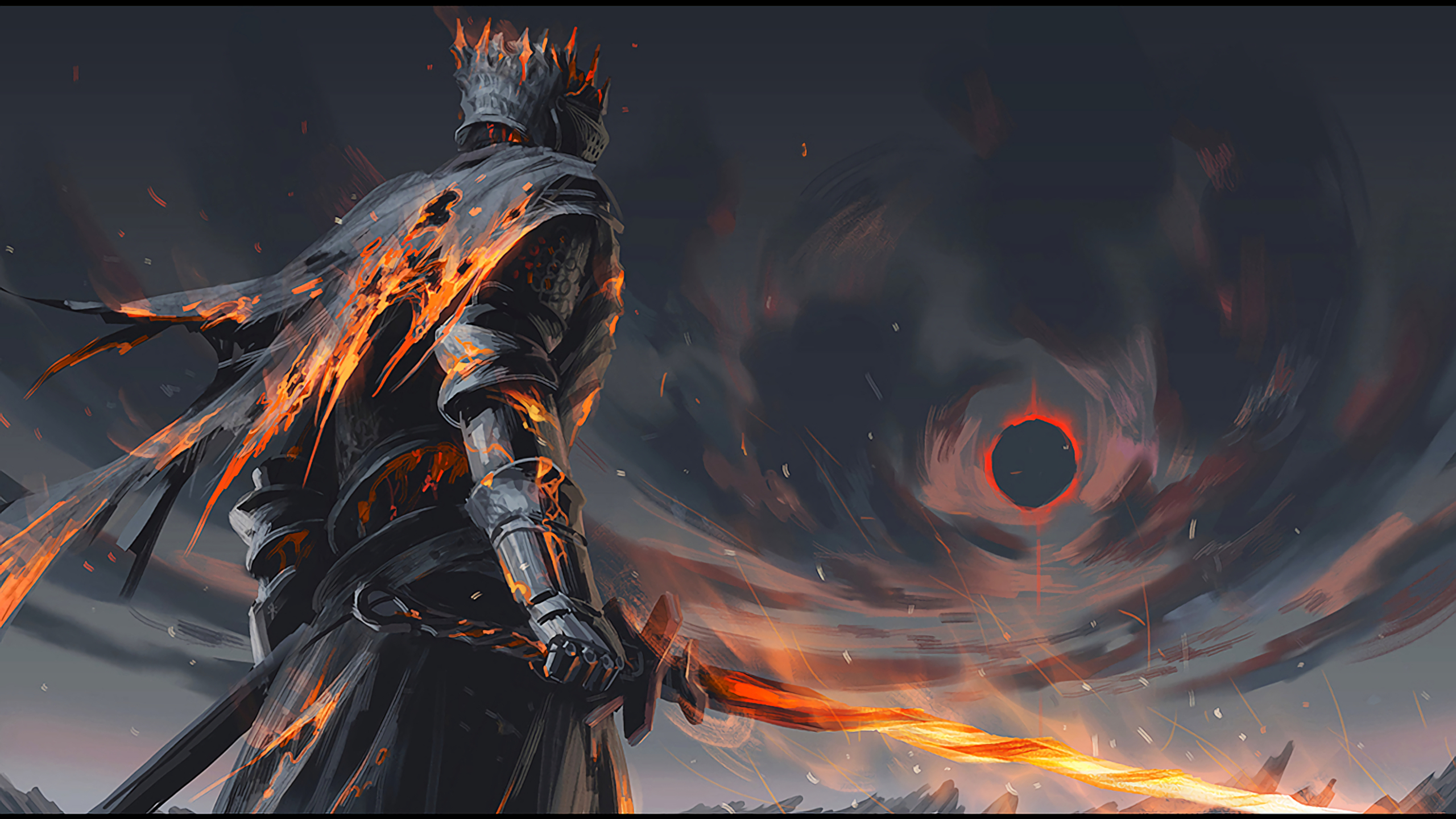 Dark Souls 3 Artwork 1440P Resolution