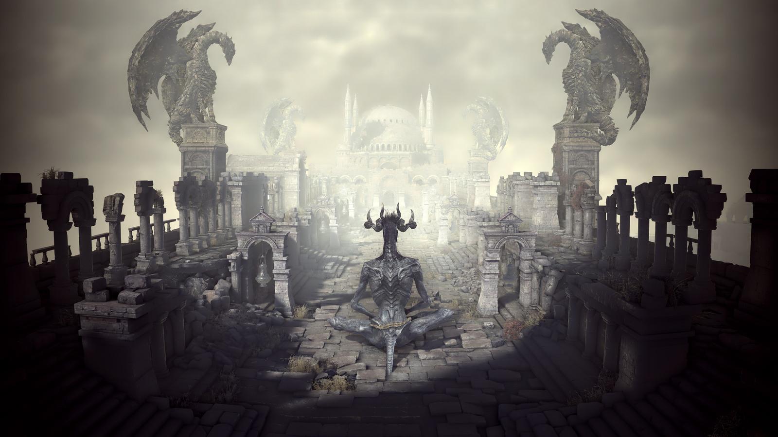1600x900 dark souls 3 demon 1600x900 resolution hd 4k wallpapers