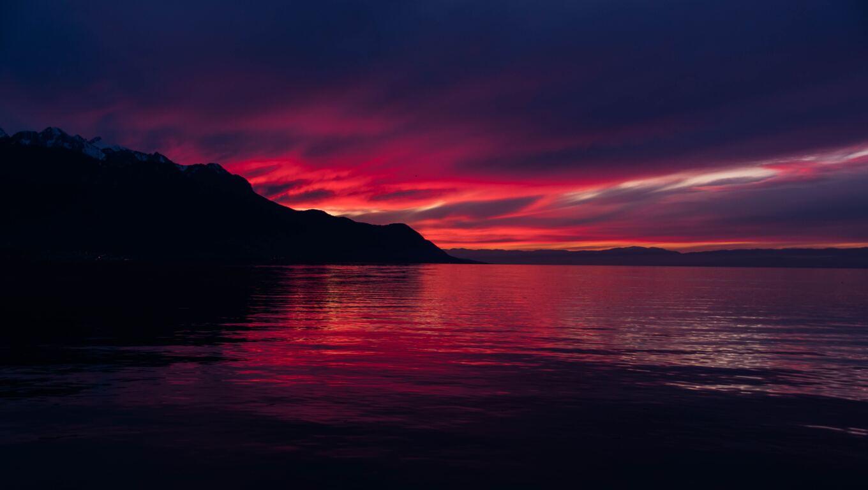 1360x768 Dark Sunset 5k Laptop Hd Hd 4k Wallpapers Images