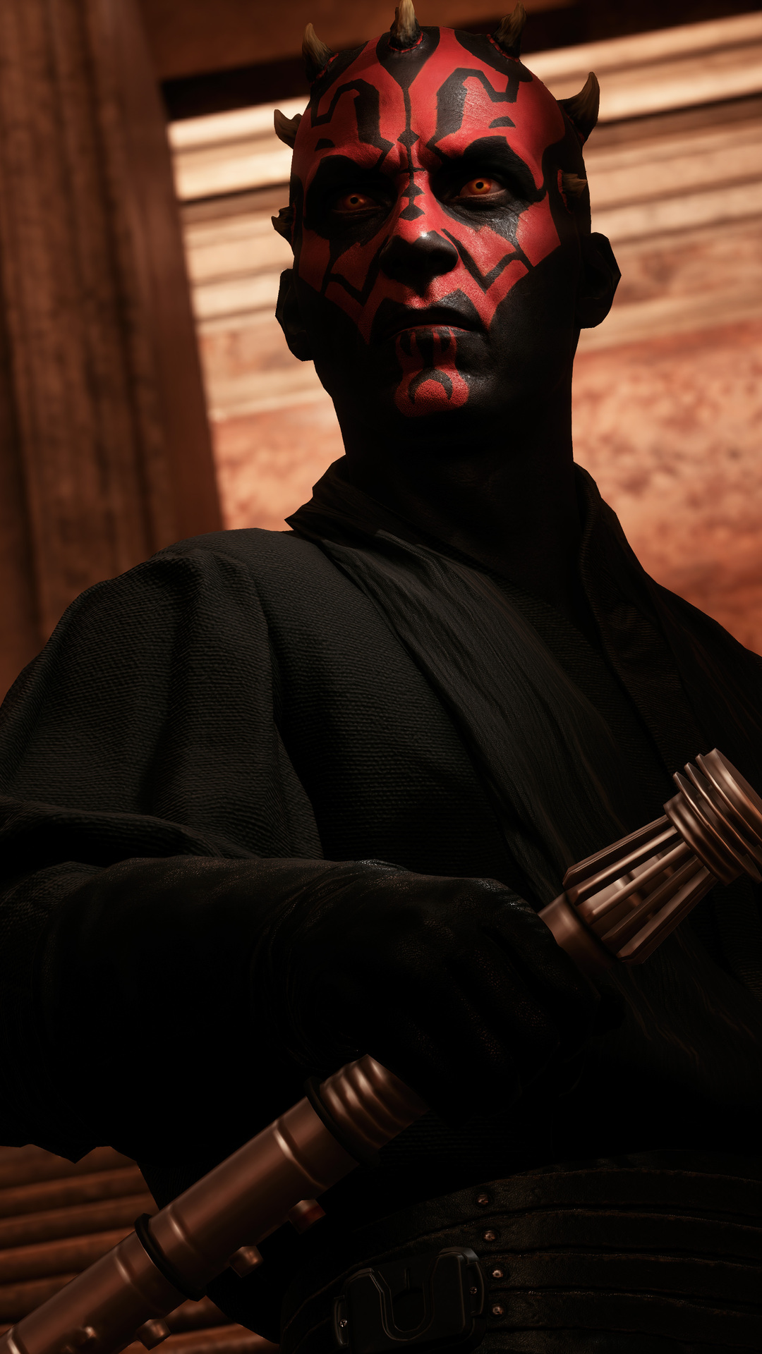 1080x1920 Darth Maul Star Wars Battlefront 2 Iphone 7,6s,6 ...