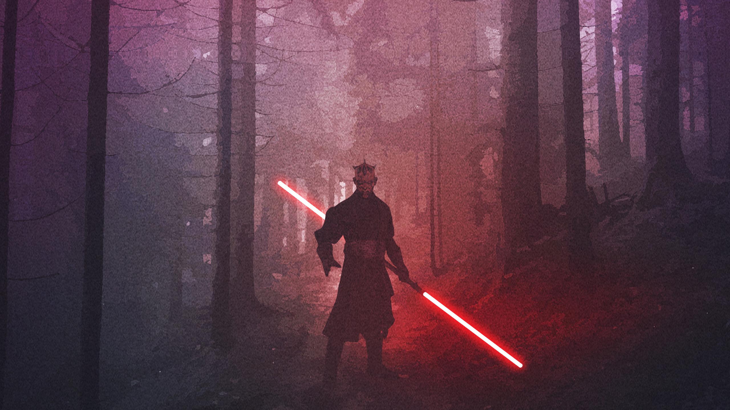 darth maul star wars fanart 8a