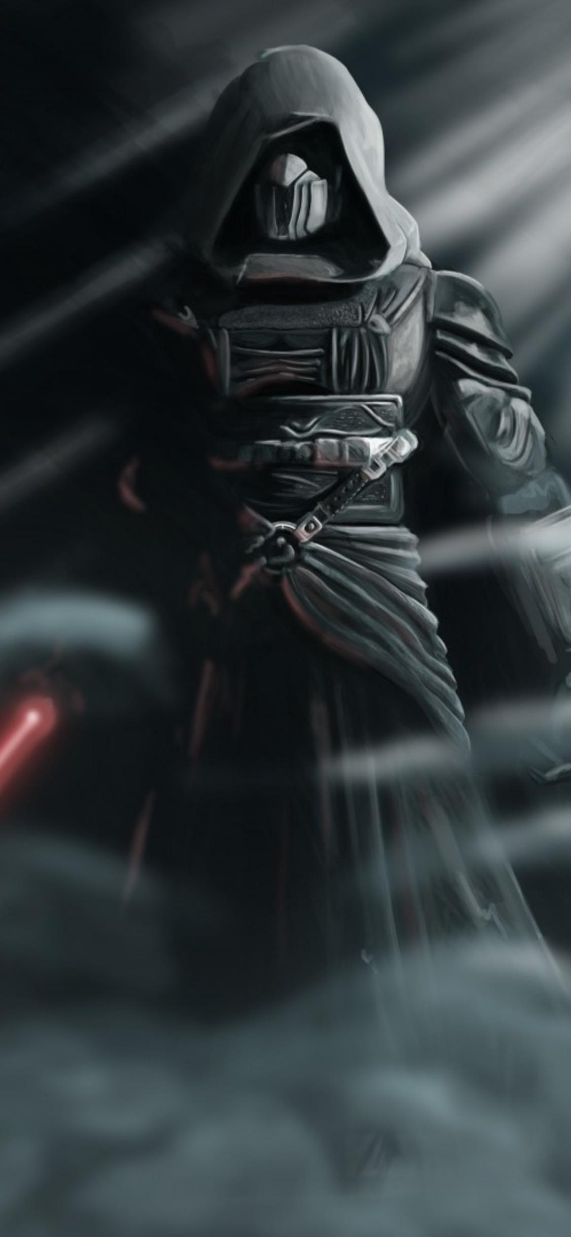 darth revan star wars with lightsaber o0