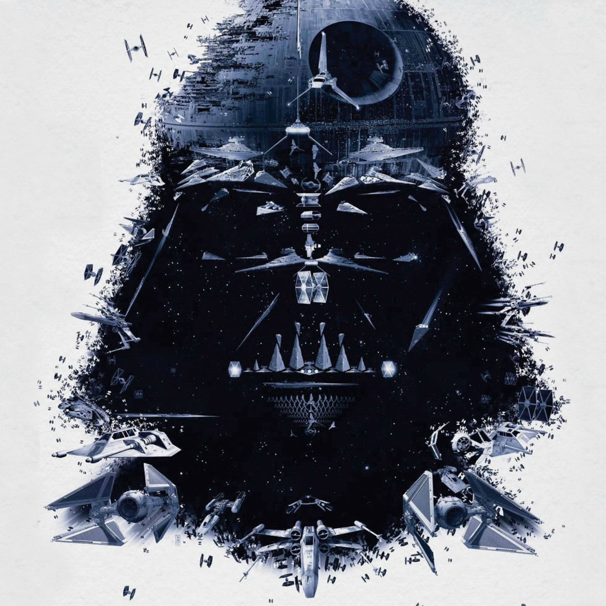 2048x2048 Darth Vader Amazing Art Ipad Air HD 4k