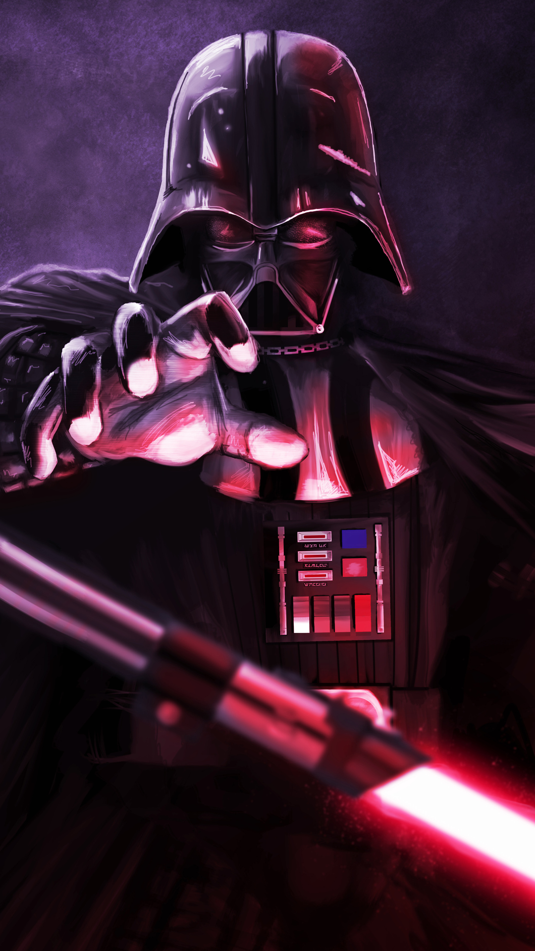 1080x1920 Darth Vader Art 4k Iphone 7 6s 6 Plus Pixel Xl One Plus