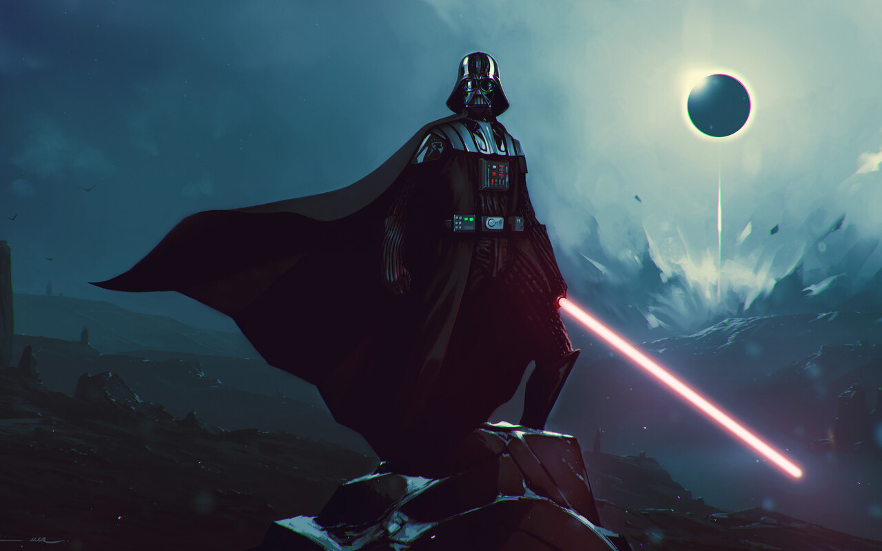 1280x800 Darth Vader Best Artwork 720p Hd 4k Wallpapers Images