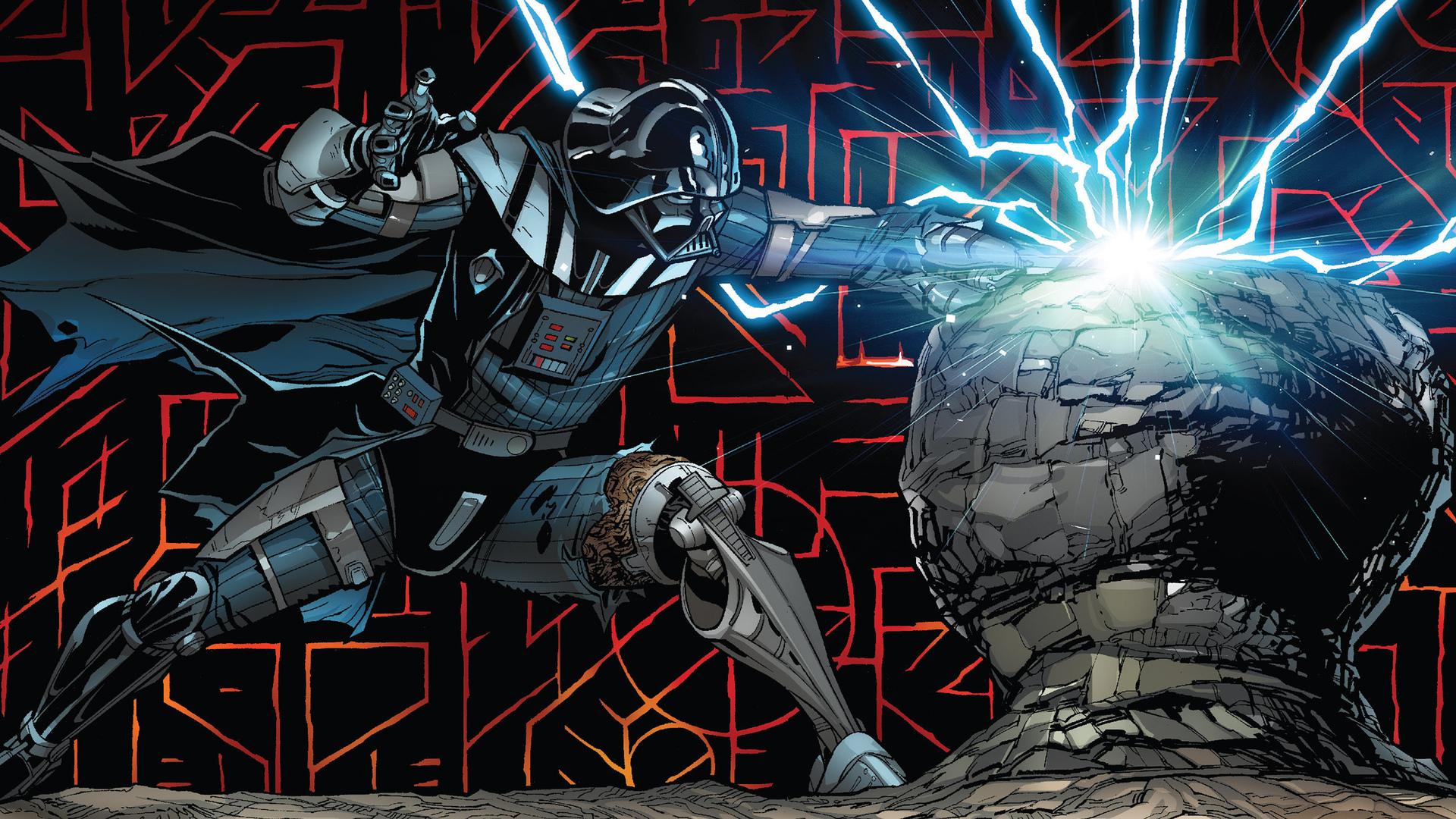 1920x1080 Darth Vader Comic Art Laptop Full HD 1080P HD 4k ...