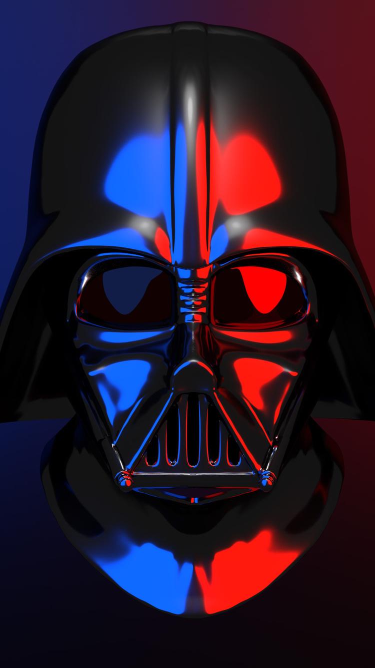 750x1334 Darth Vader Helmet 4k Iphone 6 Iphone 6s Iphone 7