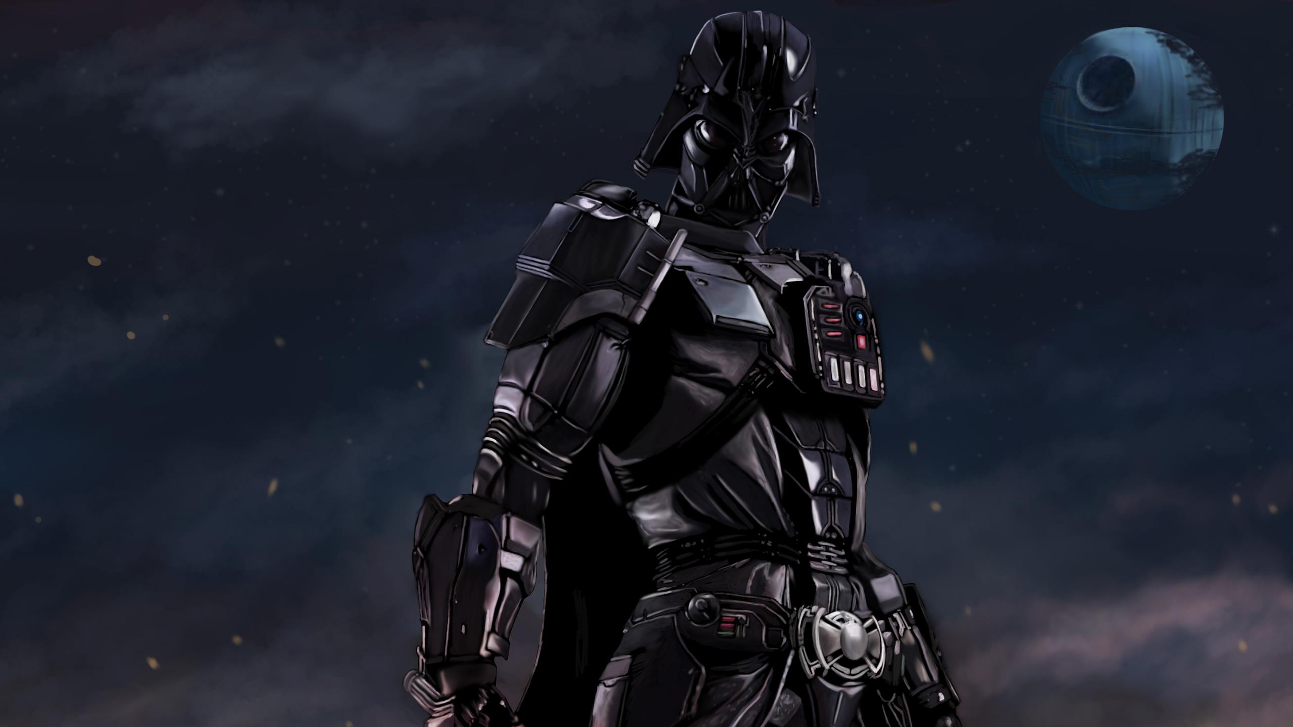 2560x1440 Darth Vader Imperial Artwork 1440P Resolution HD ...