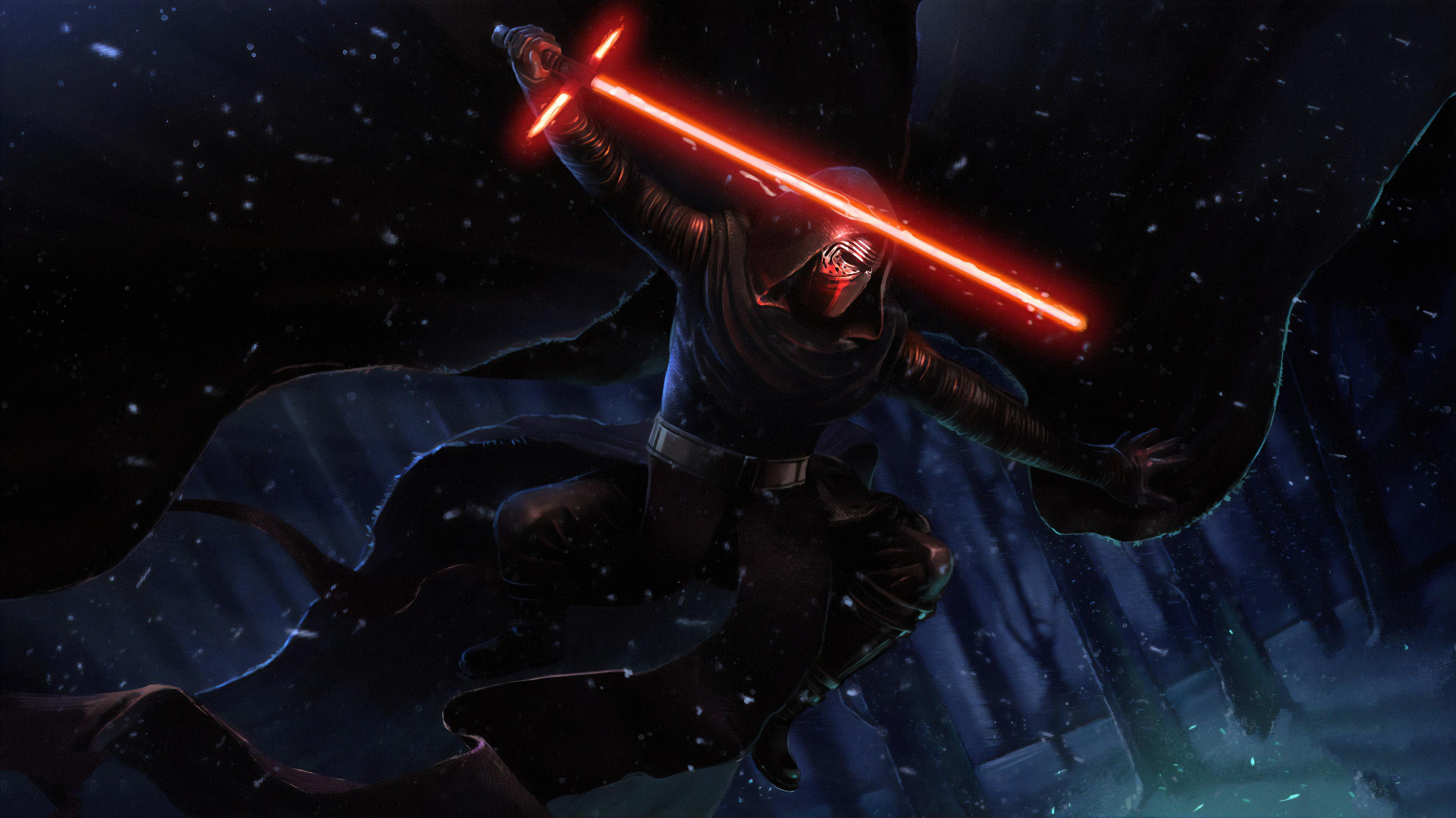 3840x2160 Darth Vader Laser 4k Hd 4k Wallpapers Images
