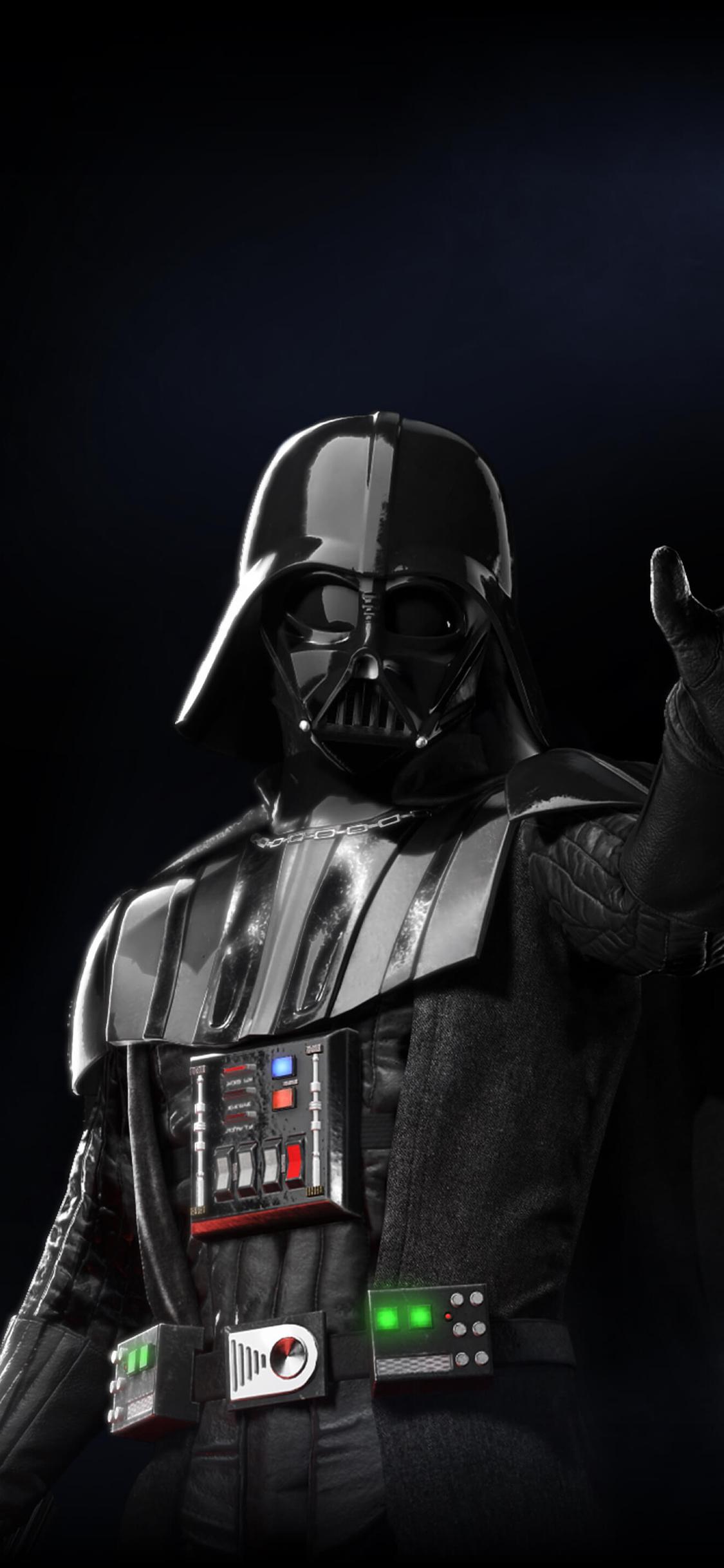 1125x2436 Darth Vader Star Wars Battlefront 2 Iphone Xs