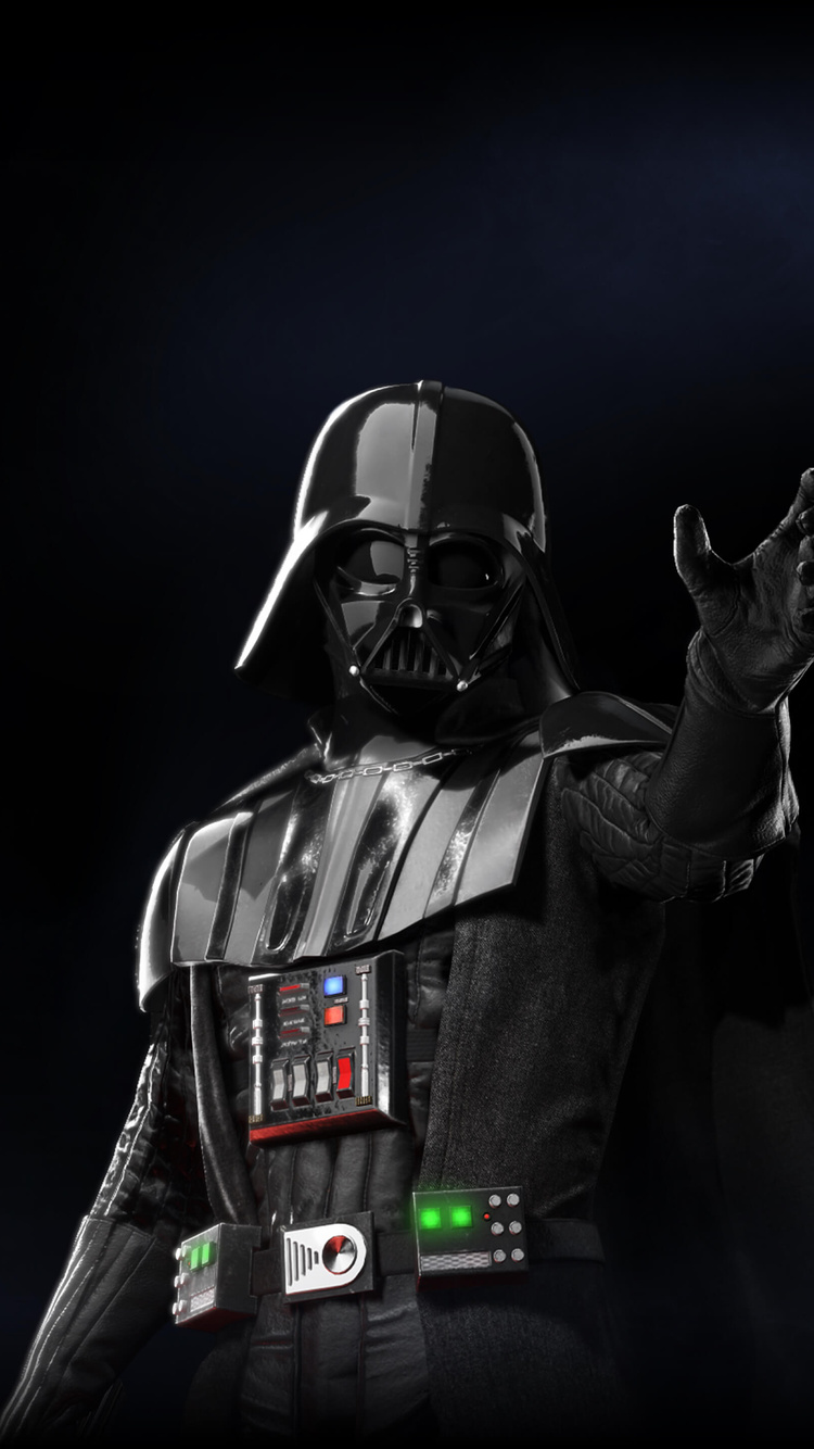 750x1334 Darth Vader Star Wars Battlefront 2 Iphone 6
