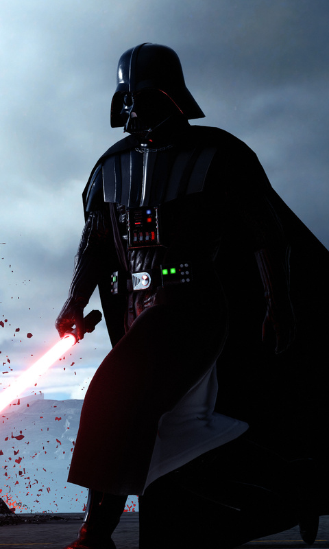 480x800 Darth Vader Star Wars Battlefront 5k Galaxy Note Htc Desire