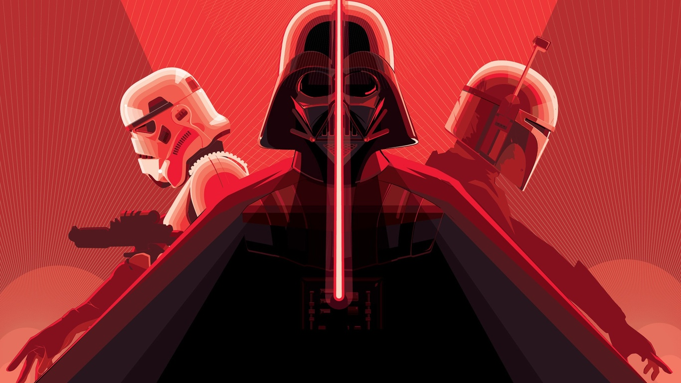 darth vader with lightsaber stormtrooper s4