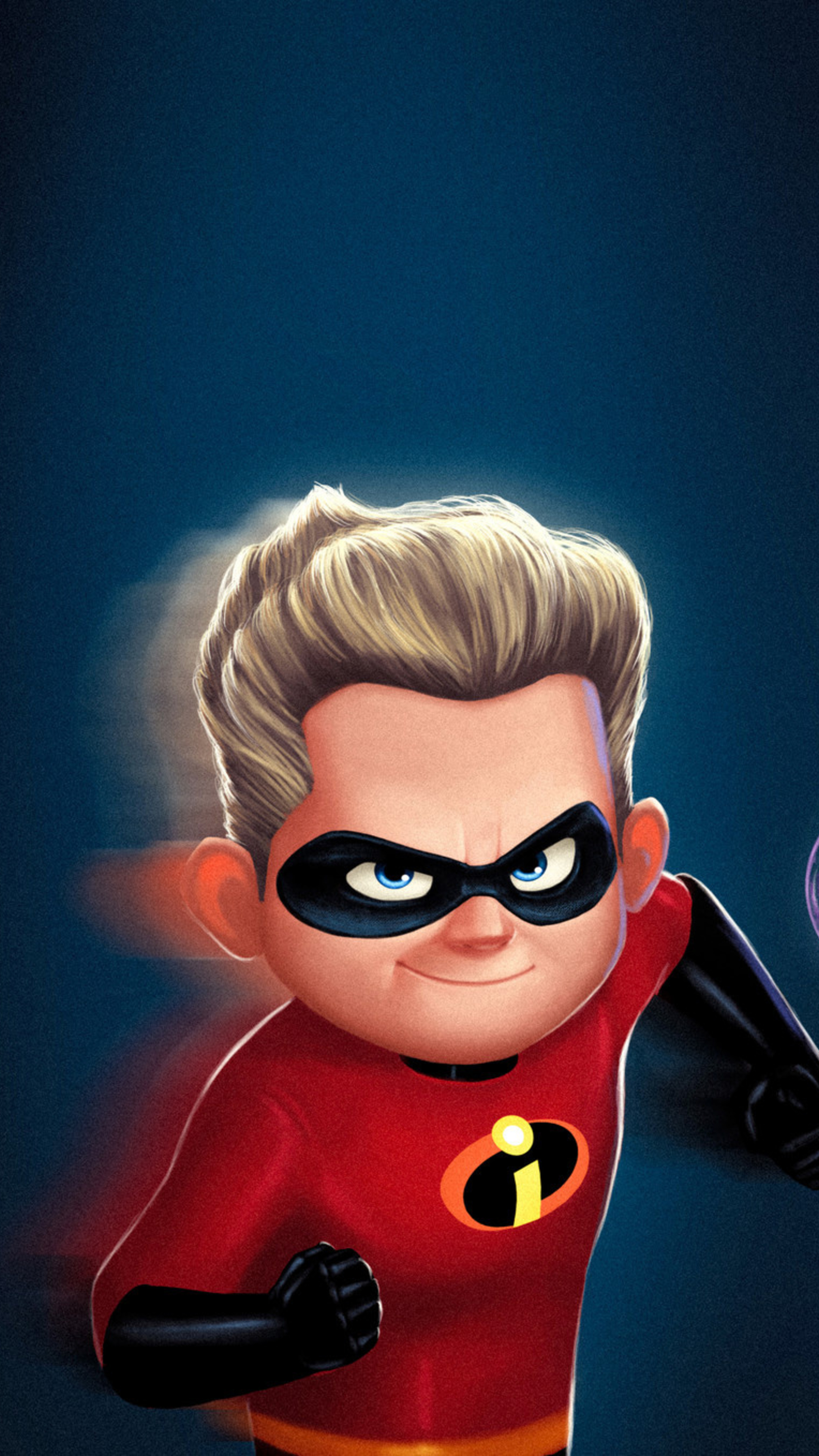 2160x3840 dash and violet in the incredibles 2 movie sony