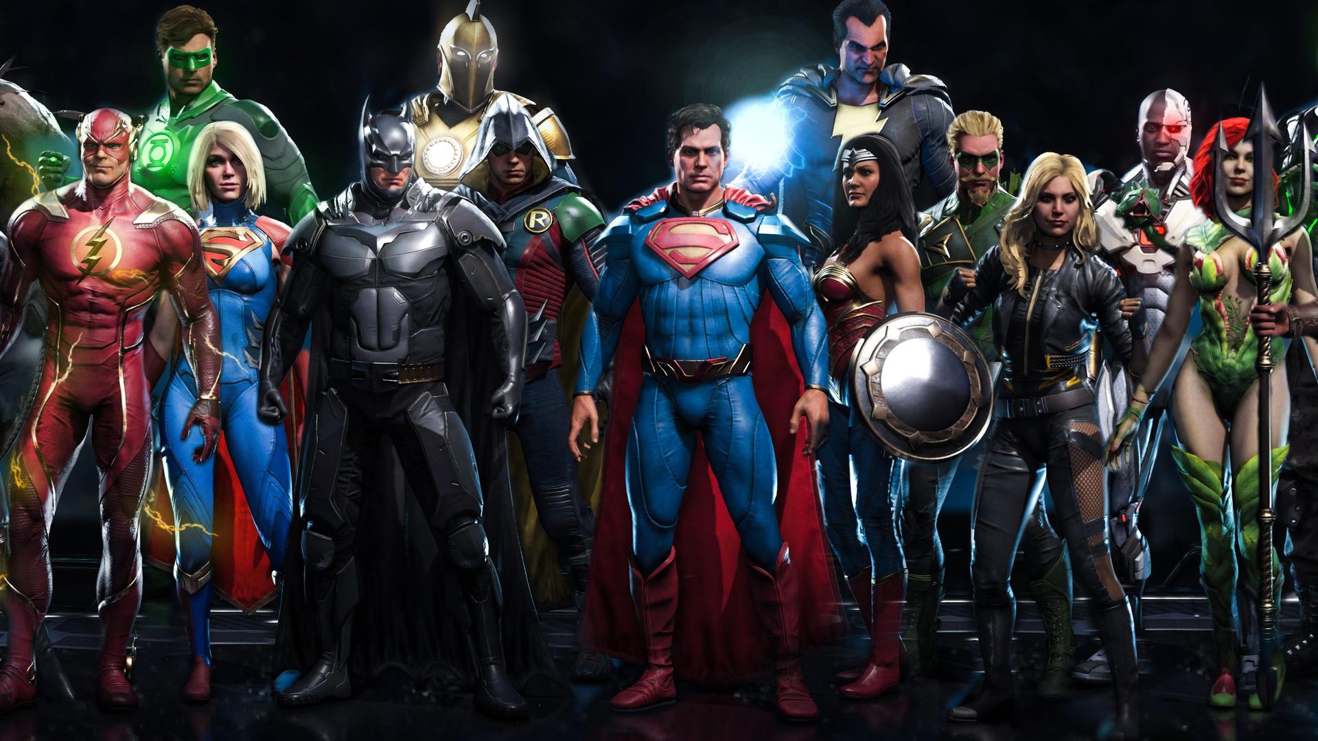 1920x1080 DC Superheroes Laptop Full HD 1080P HD 4k ...